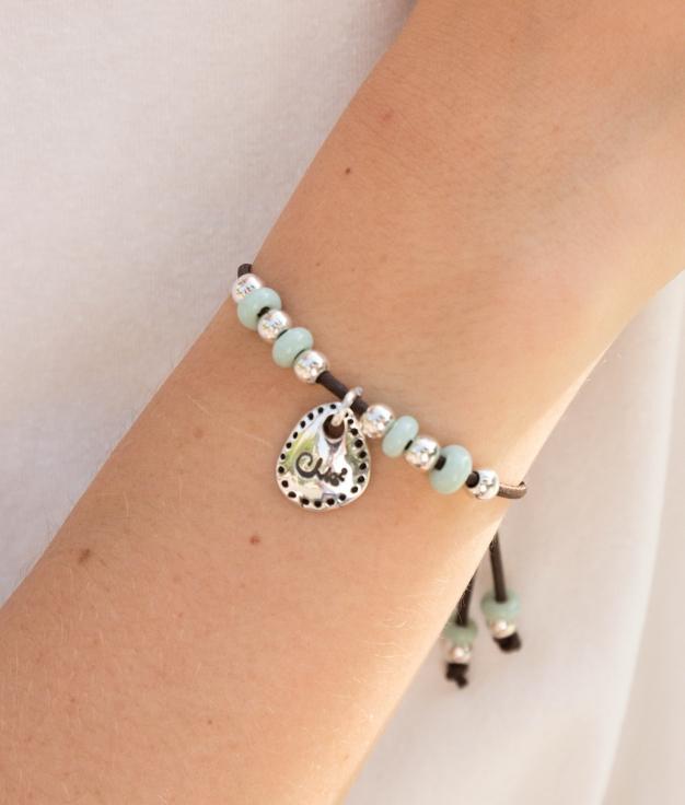 Bracelet Musgo - Aquamarine