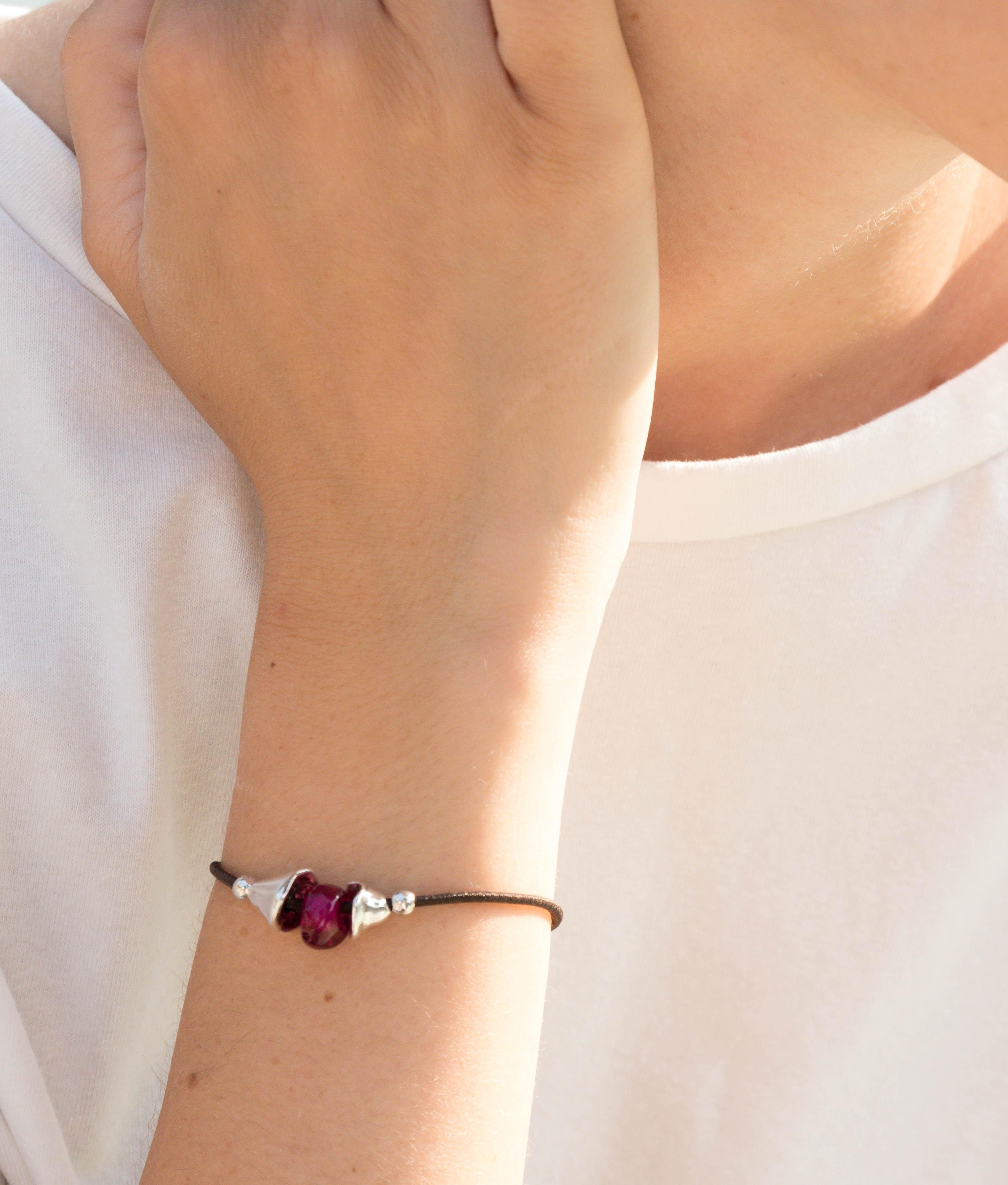 Bracelet Narciso - Fuchsia