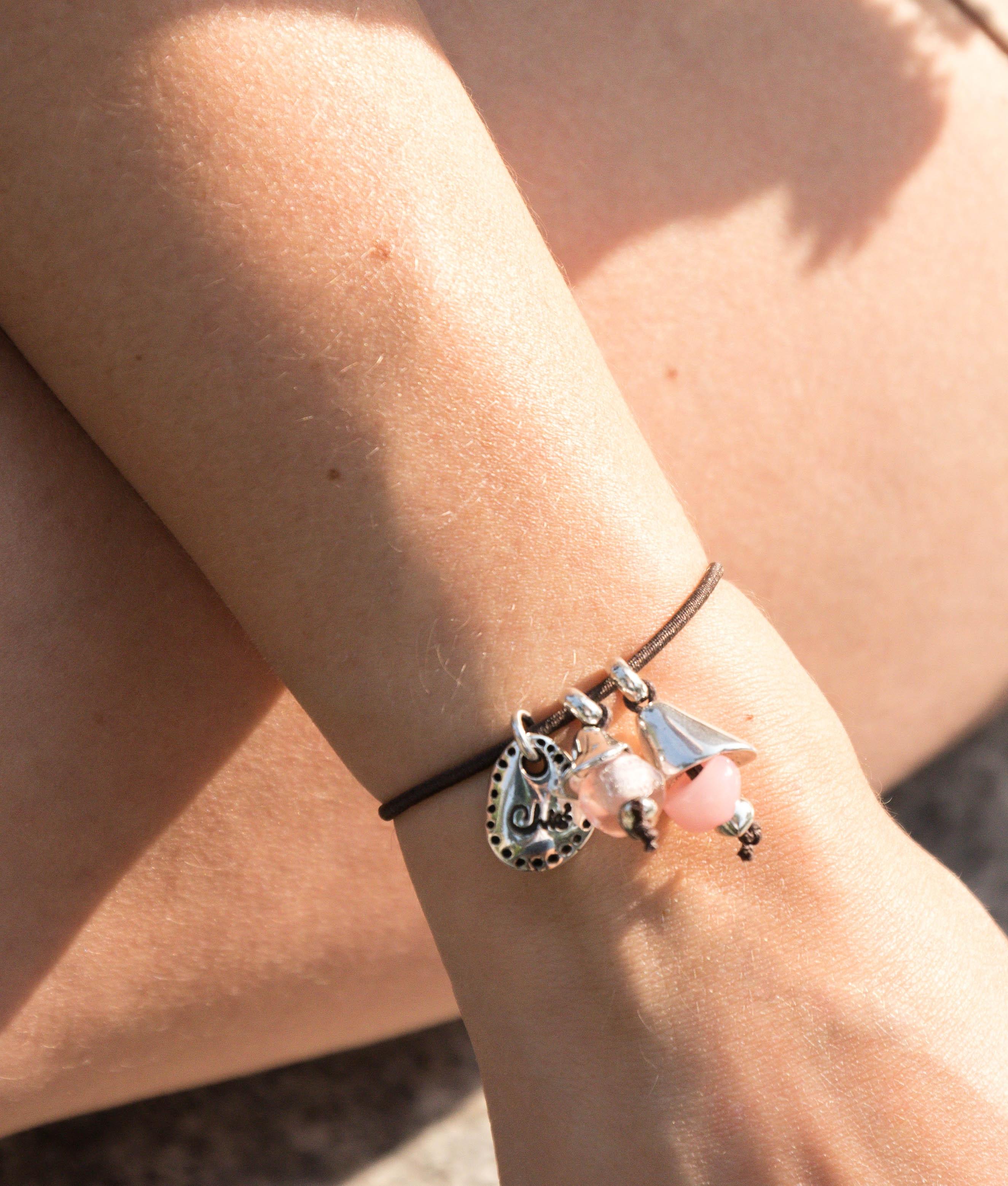 Bracelet Lirio - Coral