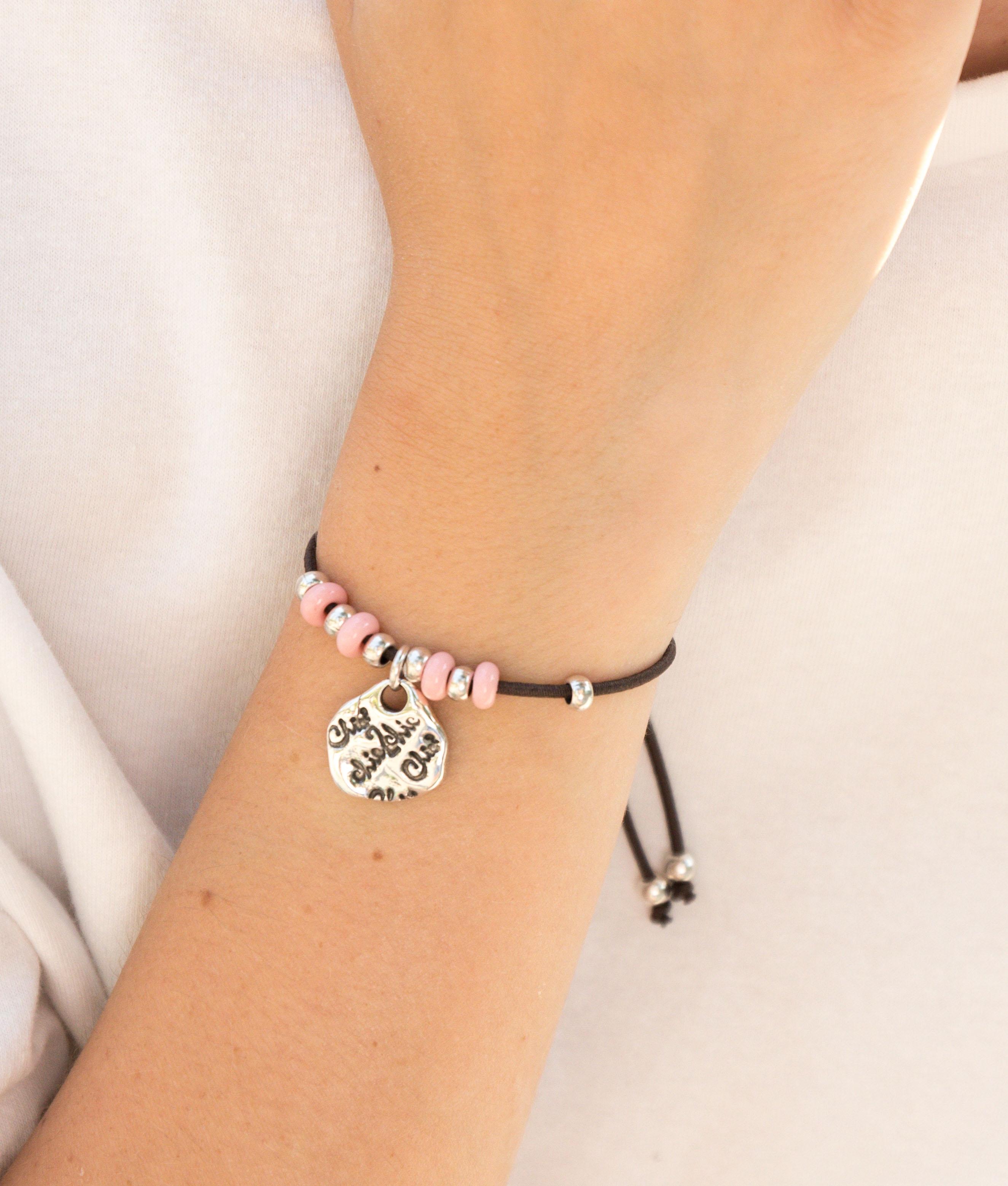 Bracelet Adelfa - Rose