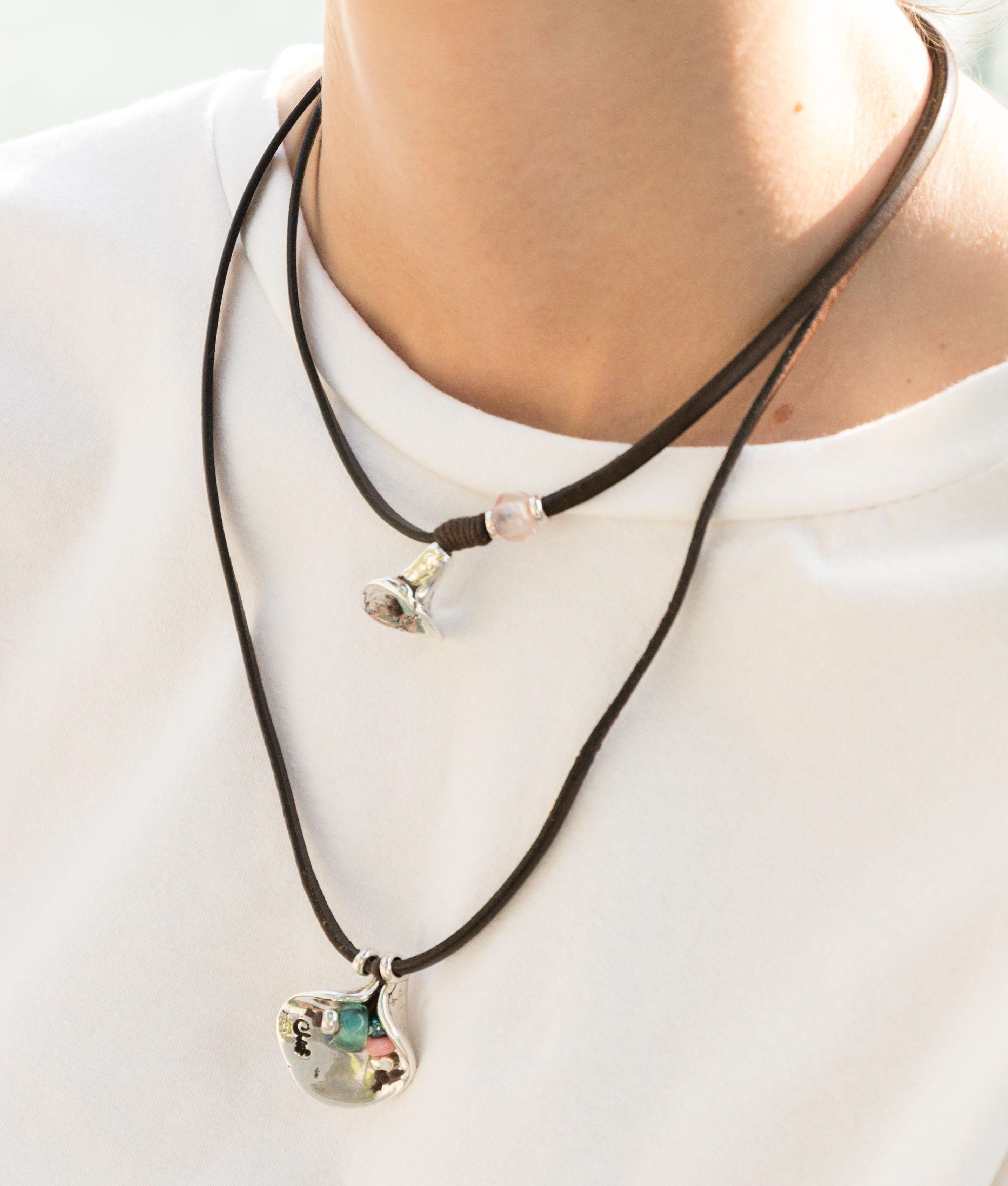 Collana Flor de Piel - Multicolore