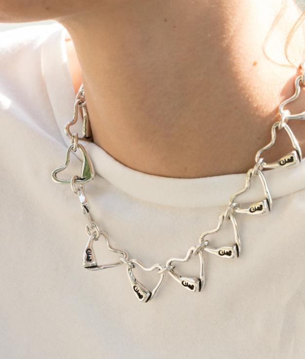 Necklace C de María - Silver