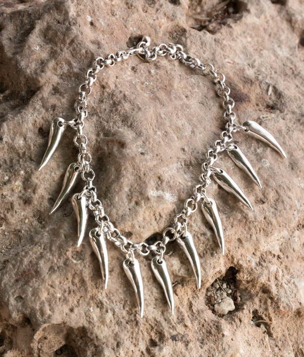 Necklace Hiedra - Silver