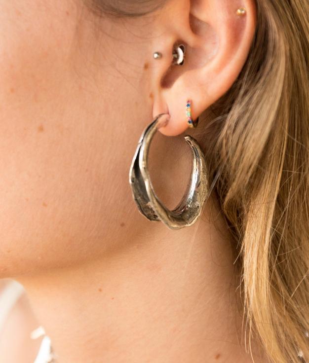 Earrings Hiedra - Silver