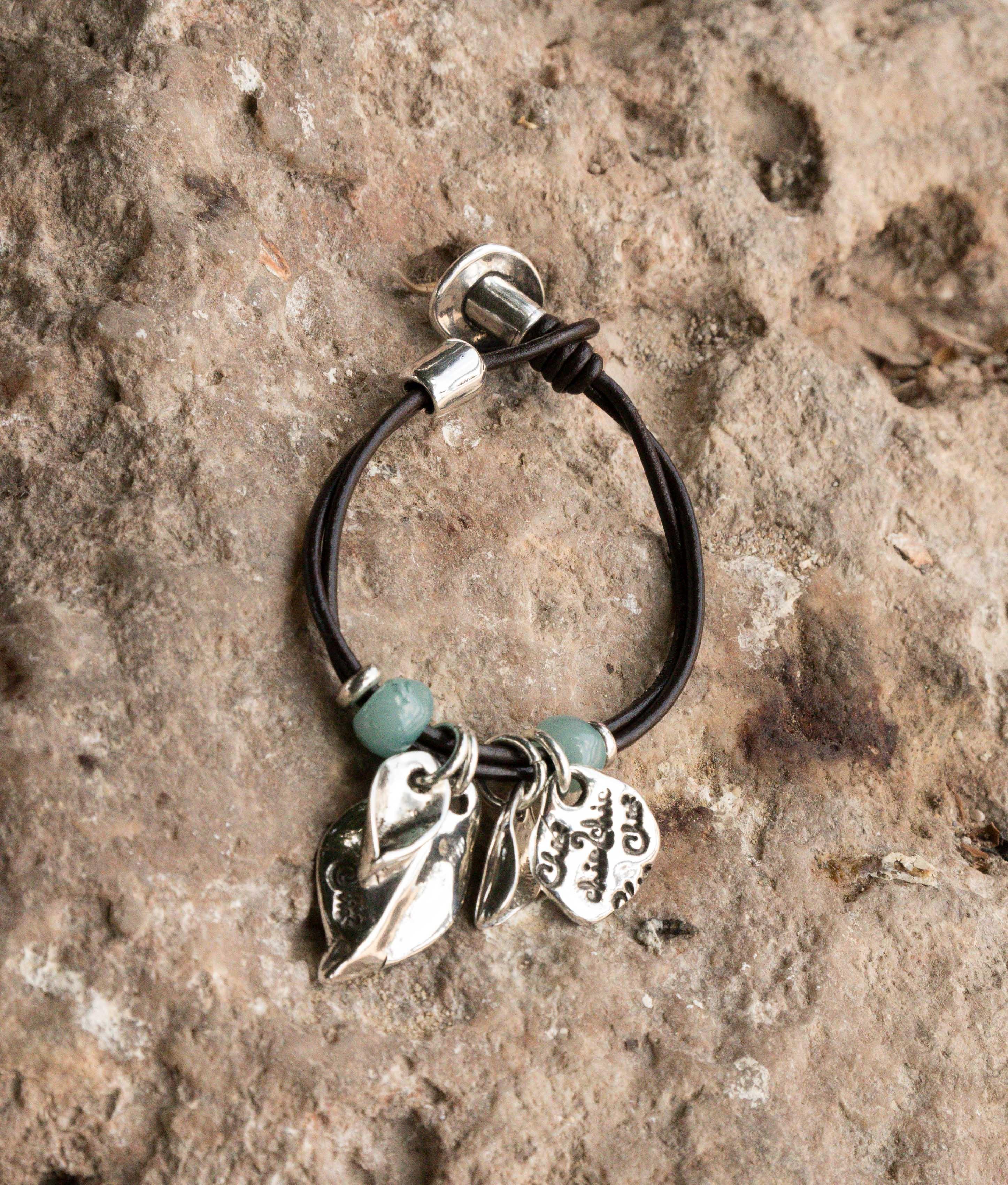 Bracelet Mimosa - Aigue-marine