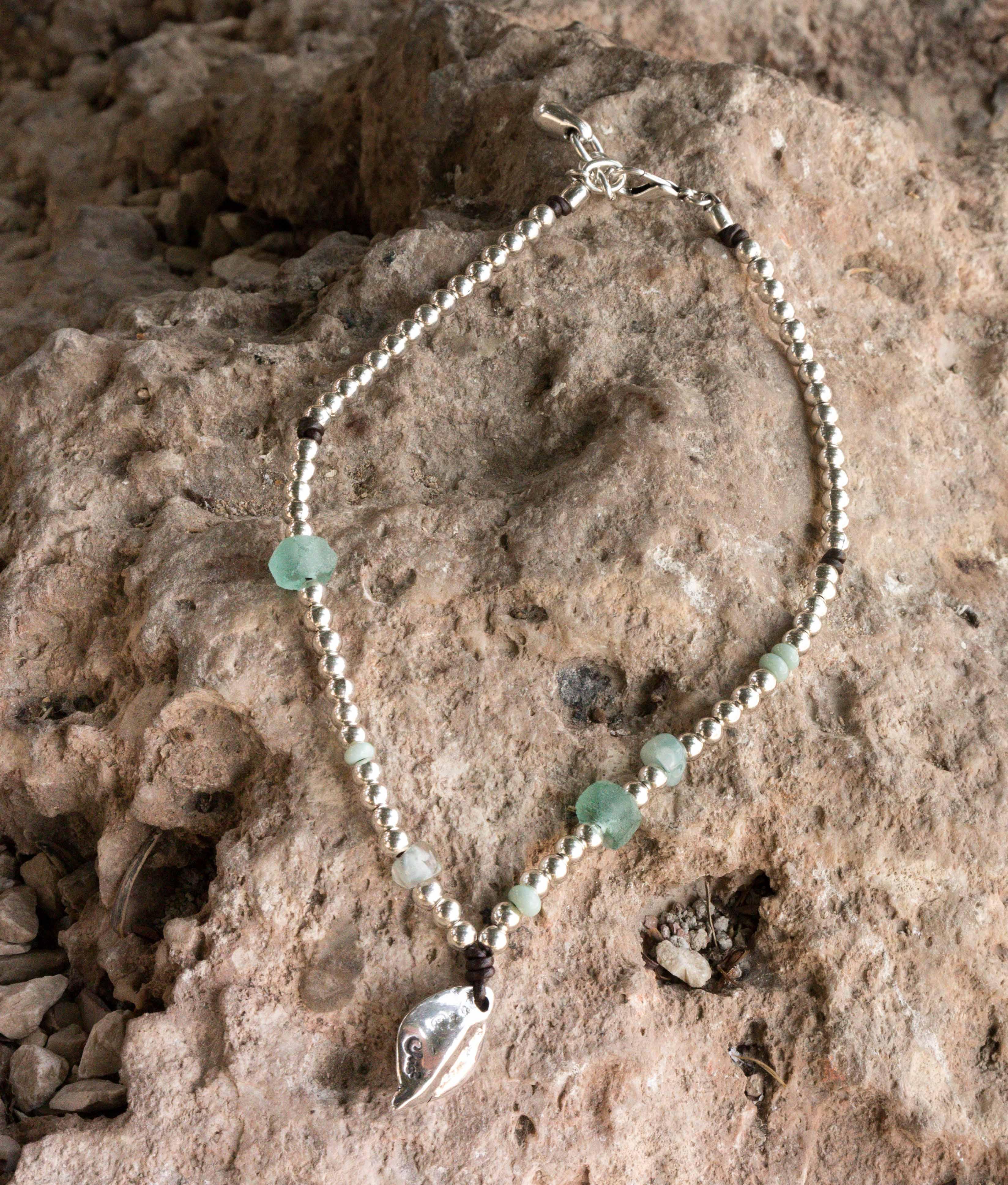Necklace Menta - Aquamarine