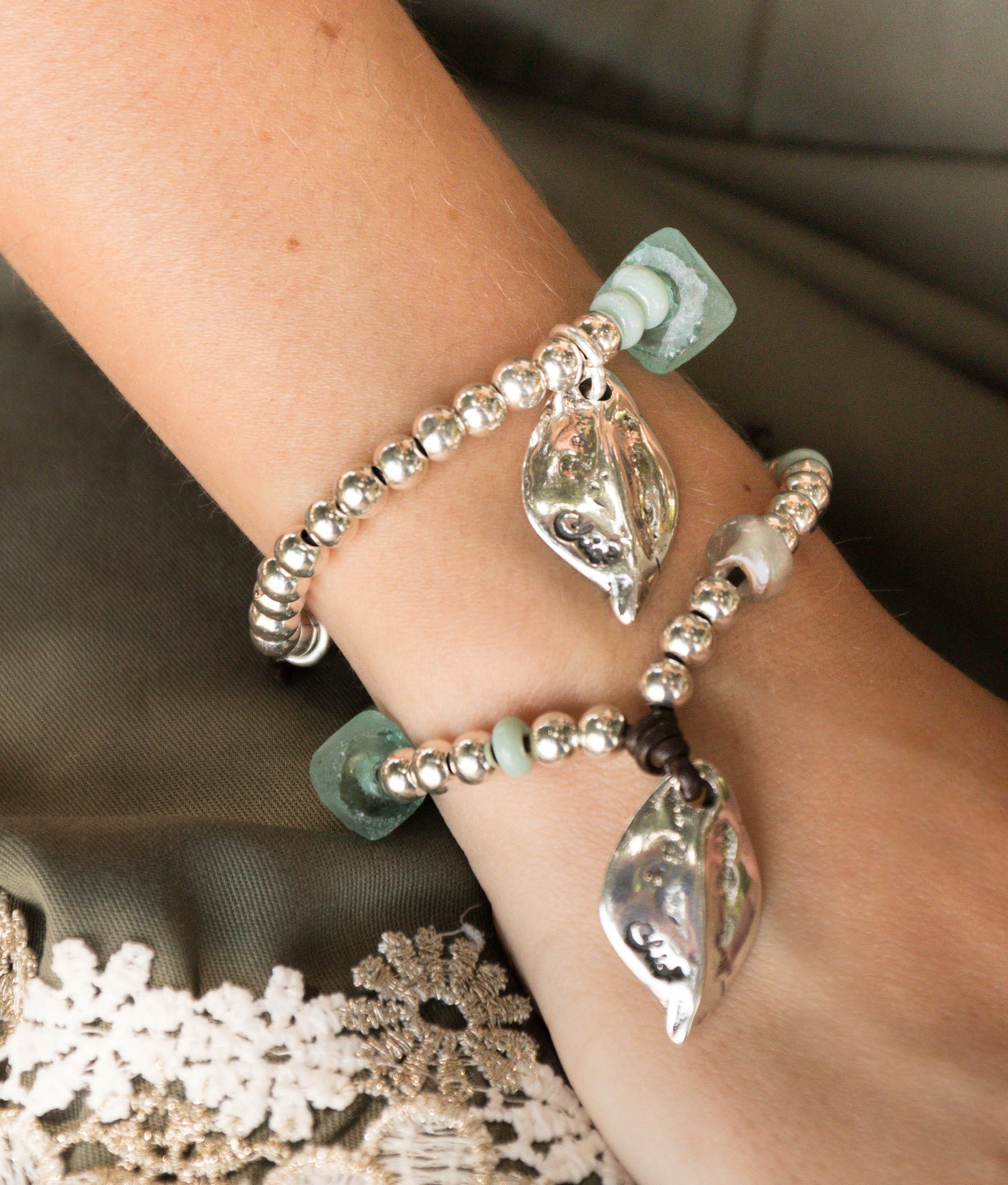 Bracelet Menta - Aigue-marine