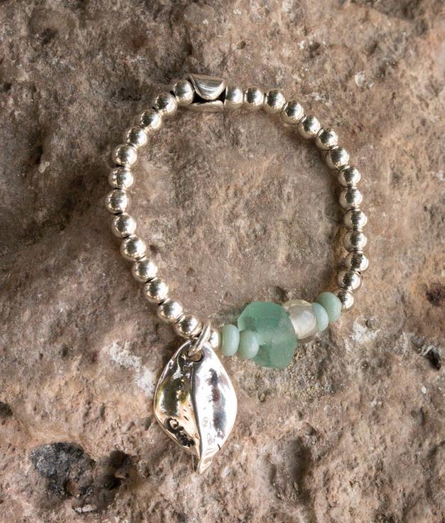 Bracelet Hierbabuena - Aigue-marine