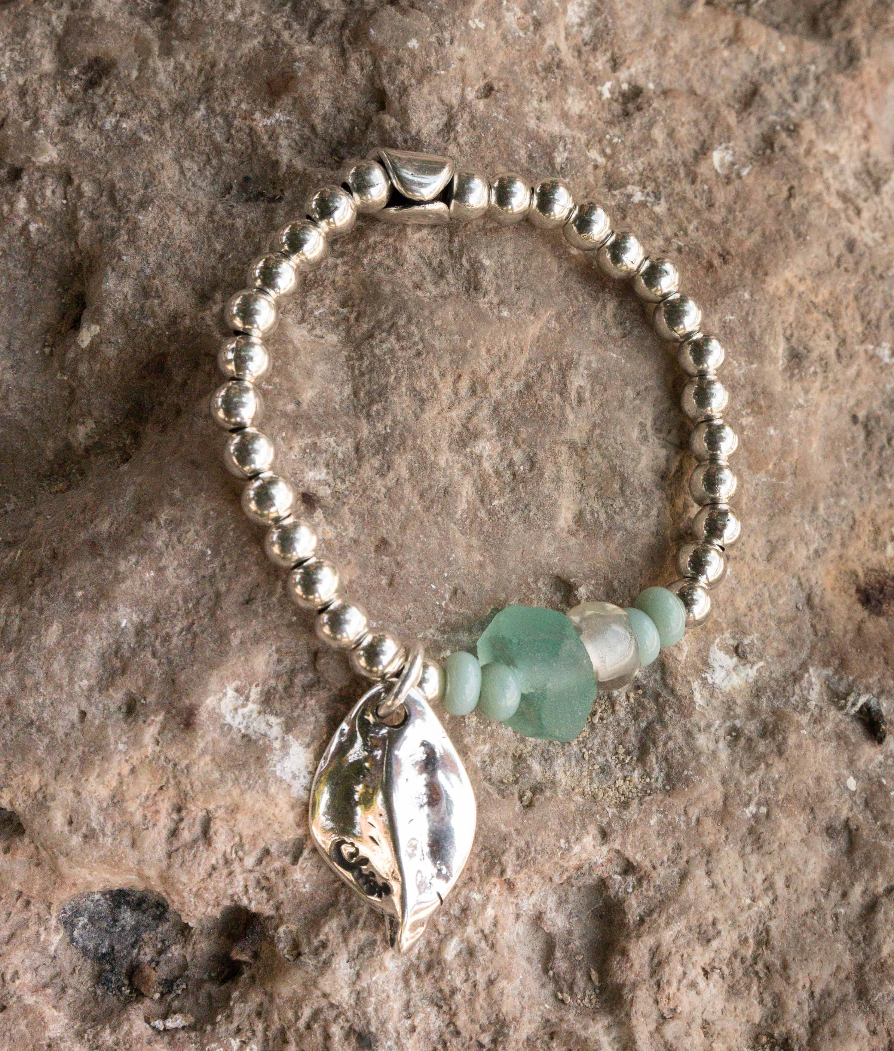 Pulseira Hierbabuena - Água-marinha