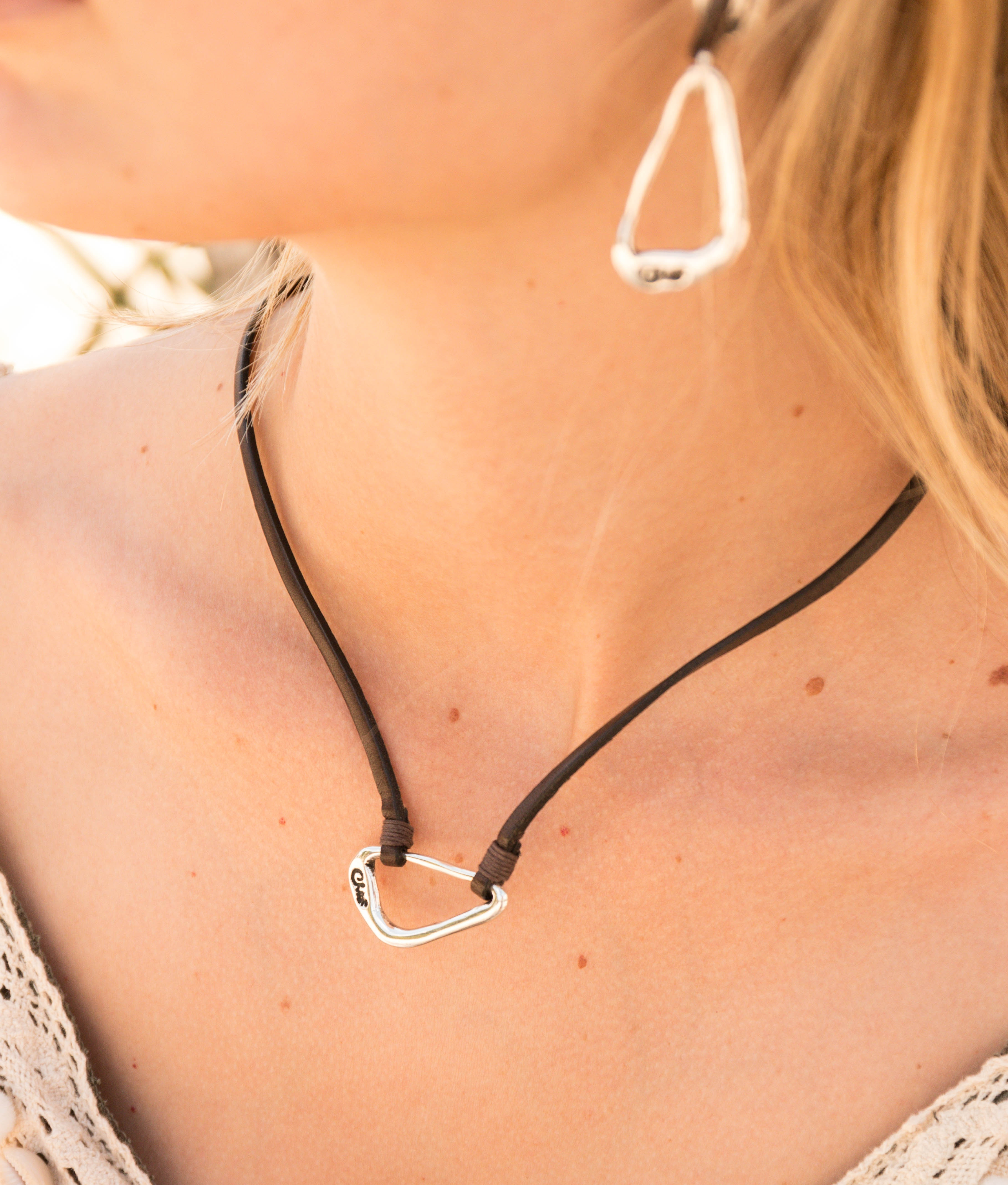 Collier Oxalis - Argent