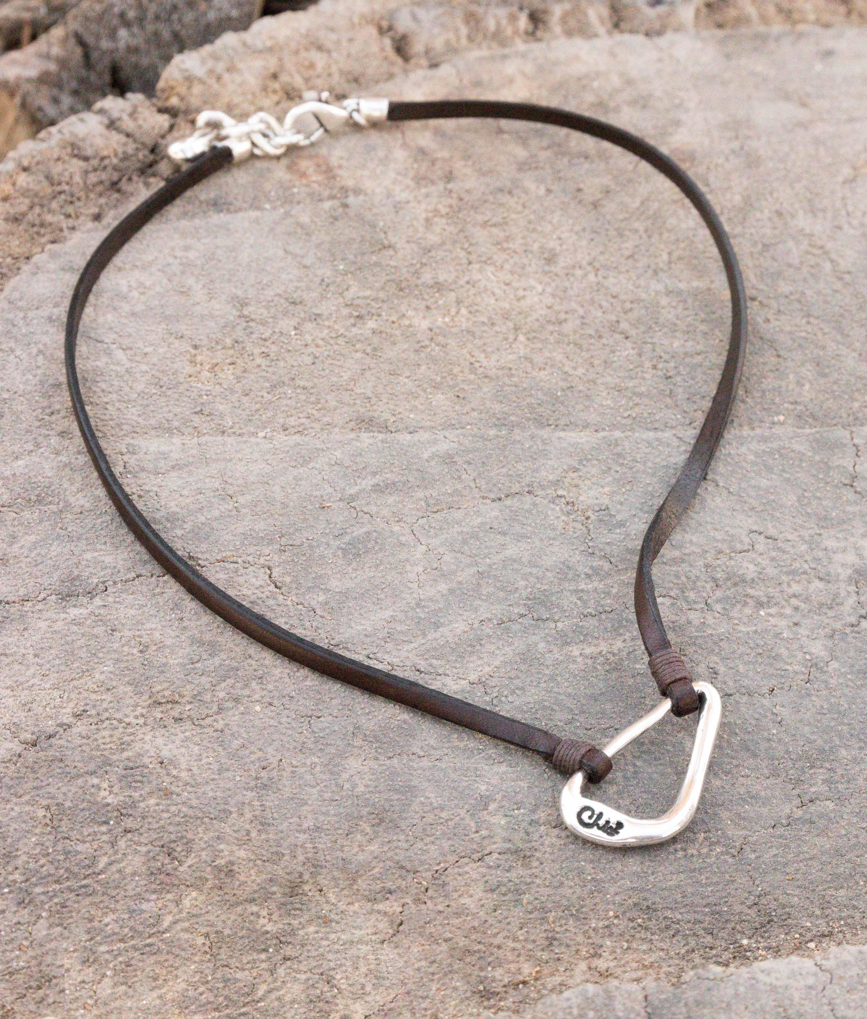 Collana Oxalis - Argento
