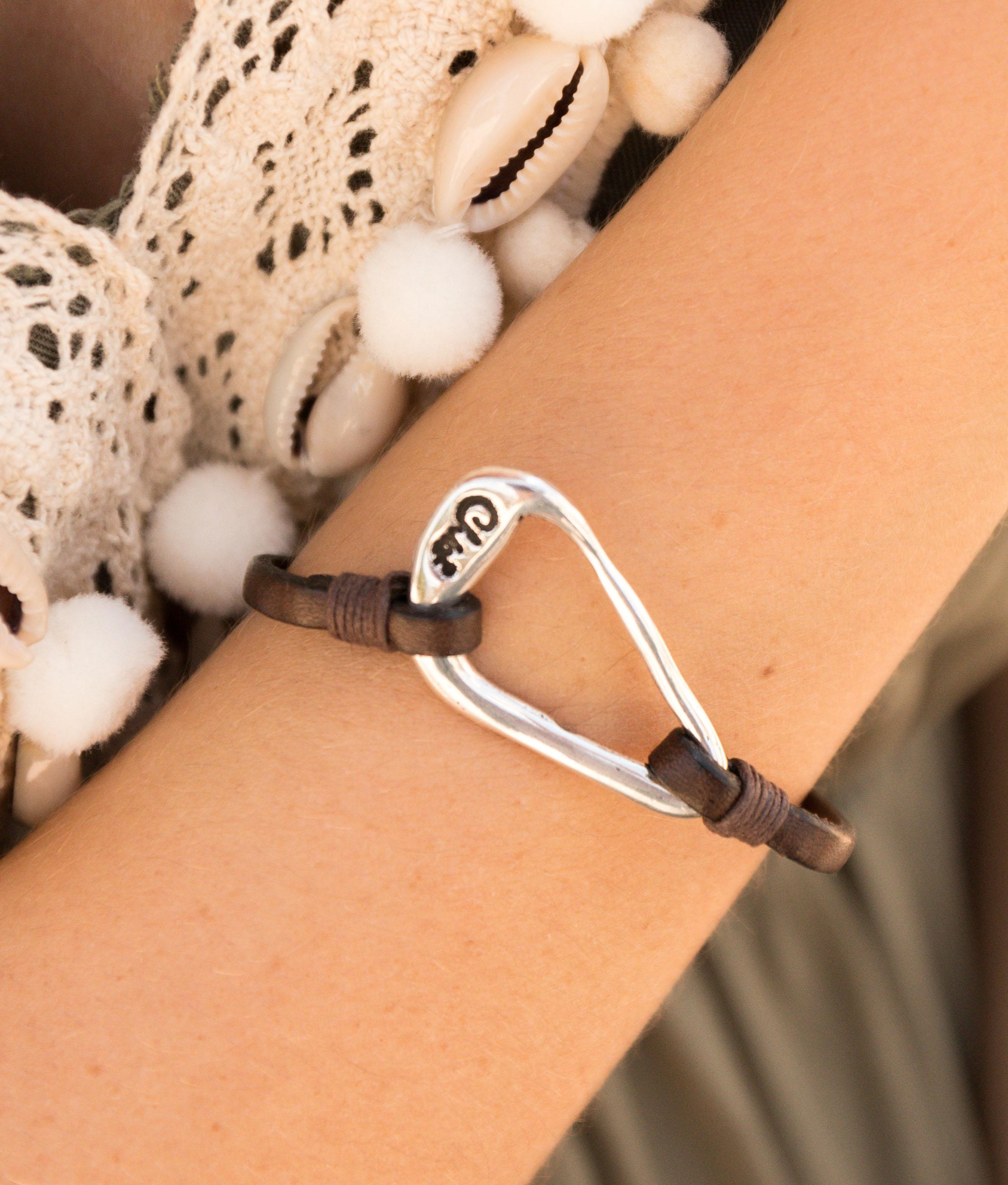 Bracelet Oxalis - Argent