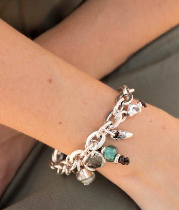 Bracelet Bouquet - Argent