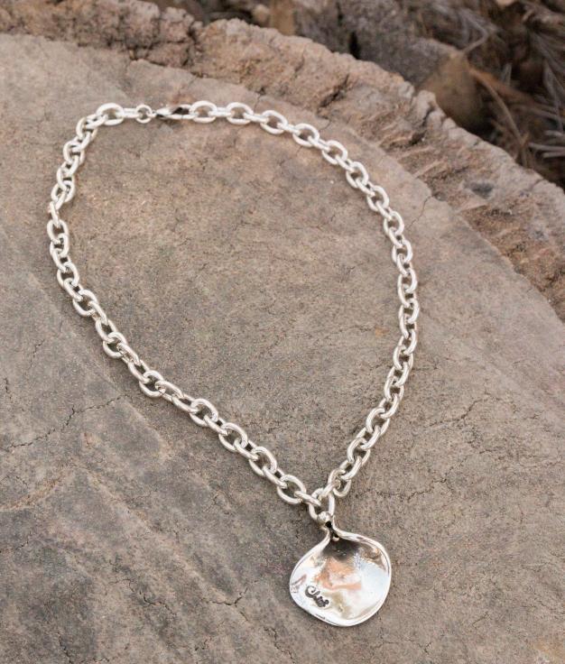 Necklace Magnolia - Silver