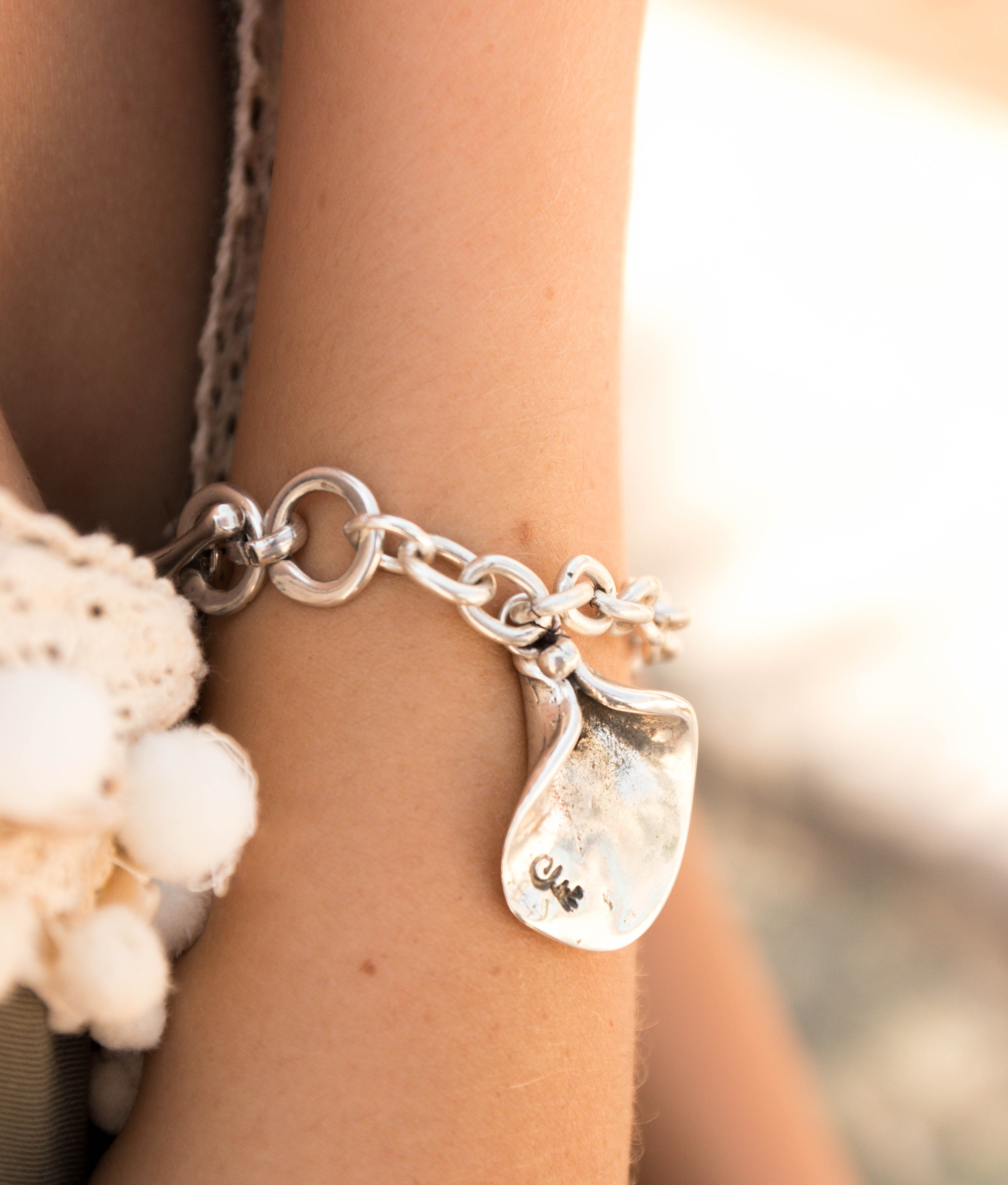 Bracelet Magnolia - Argent