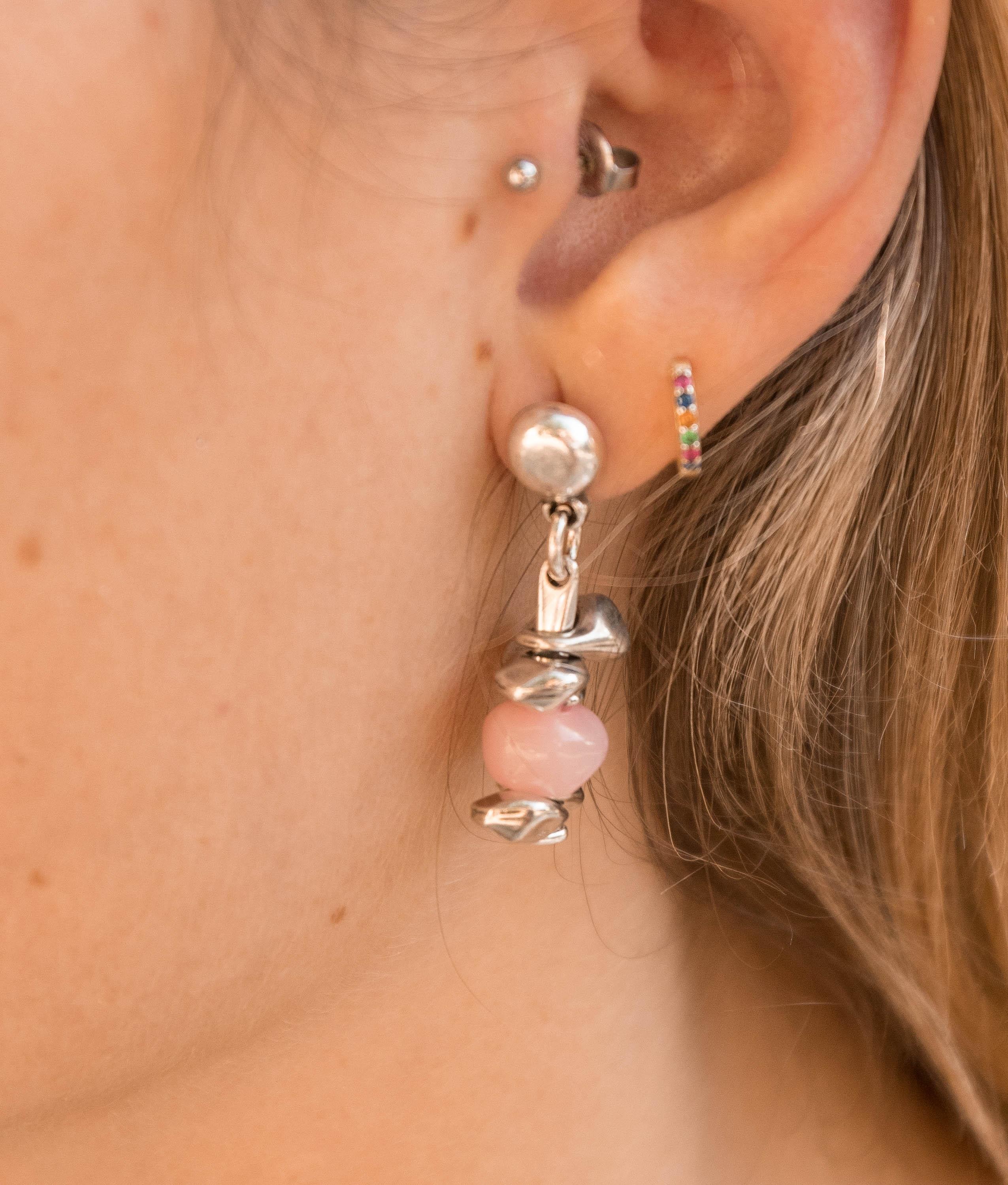 Earrings Buganvilla - Rosa