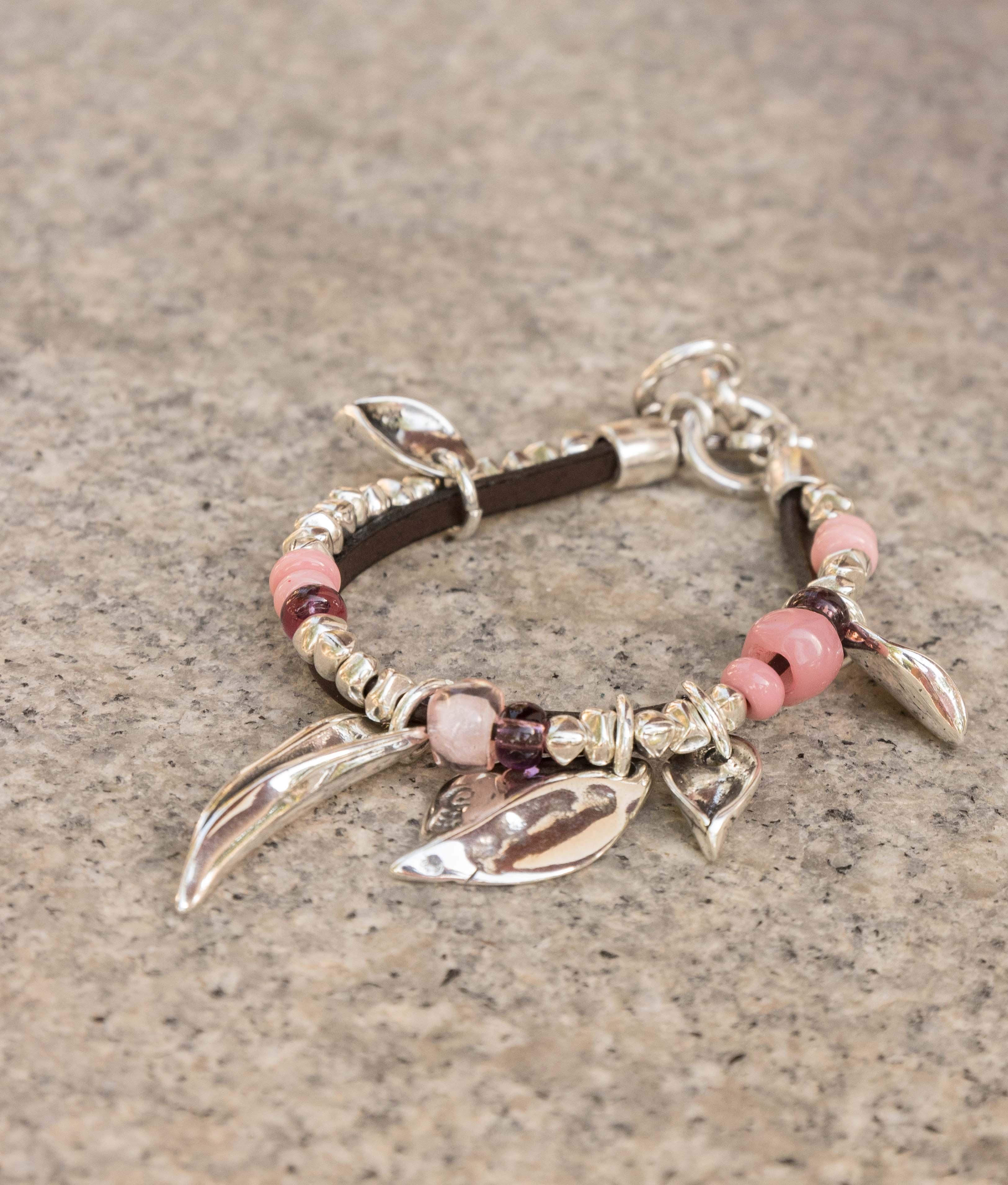 Bracelet Buganvilla - Rose