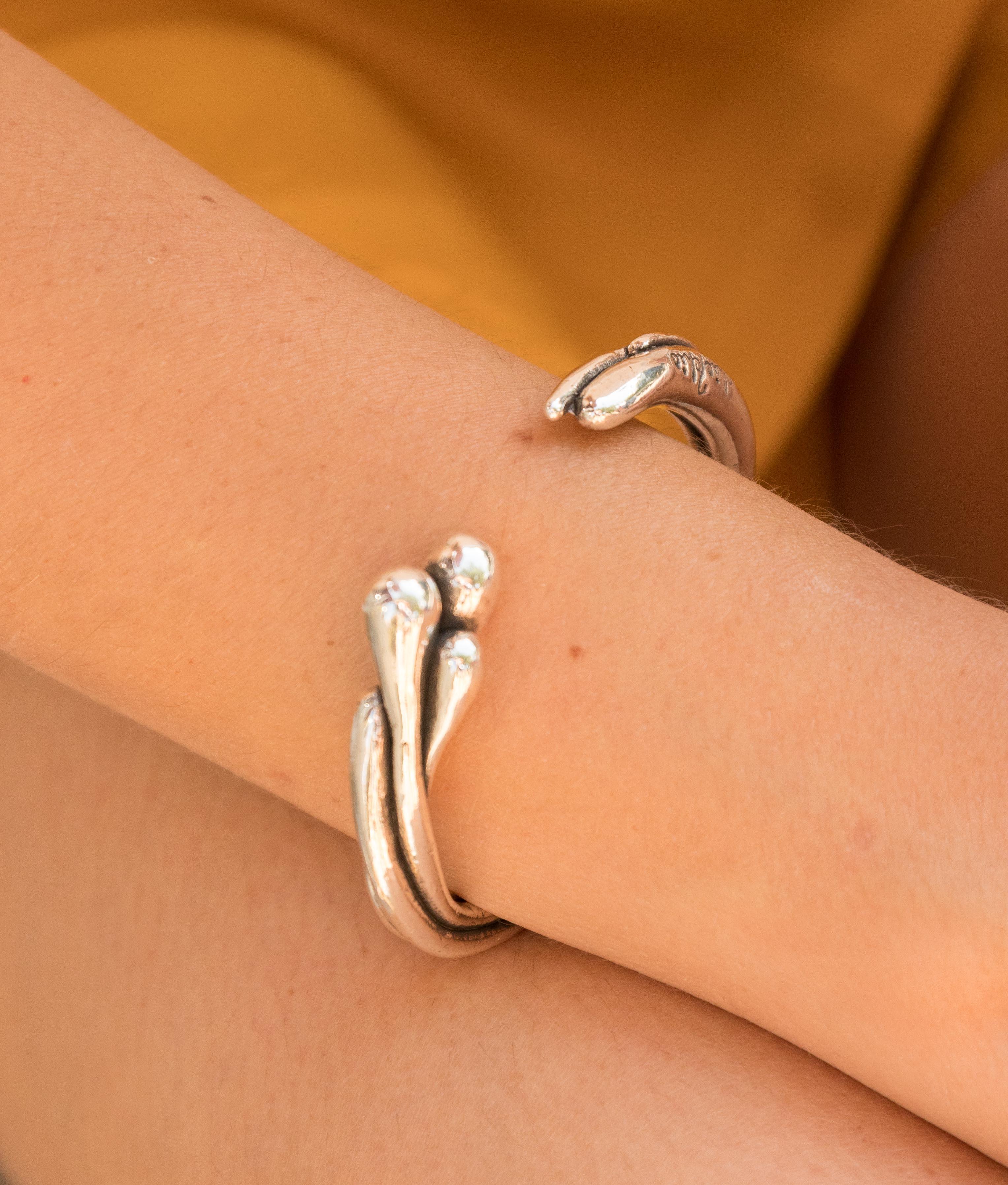 Bracelet Brotes - Silver