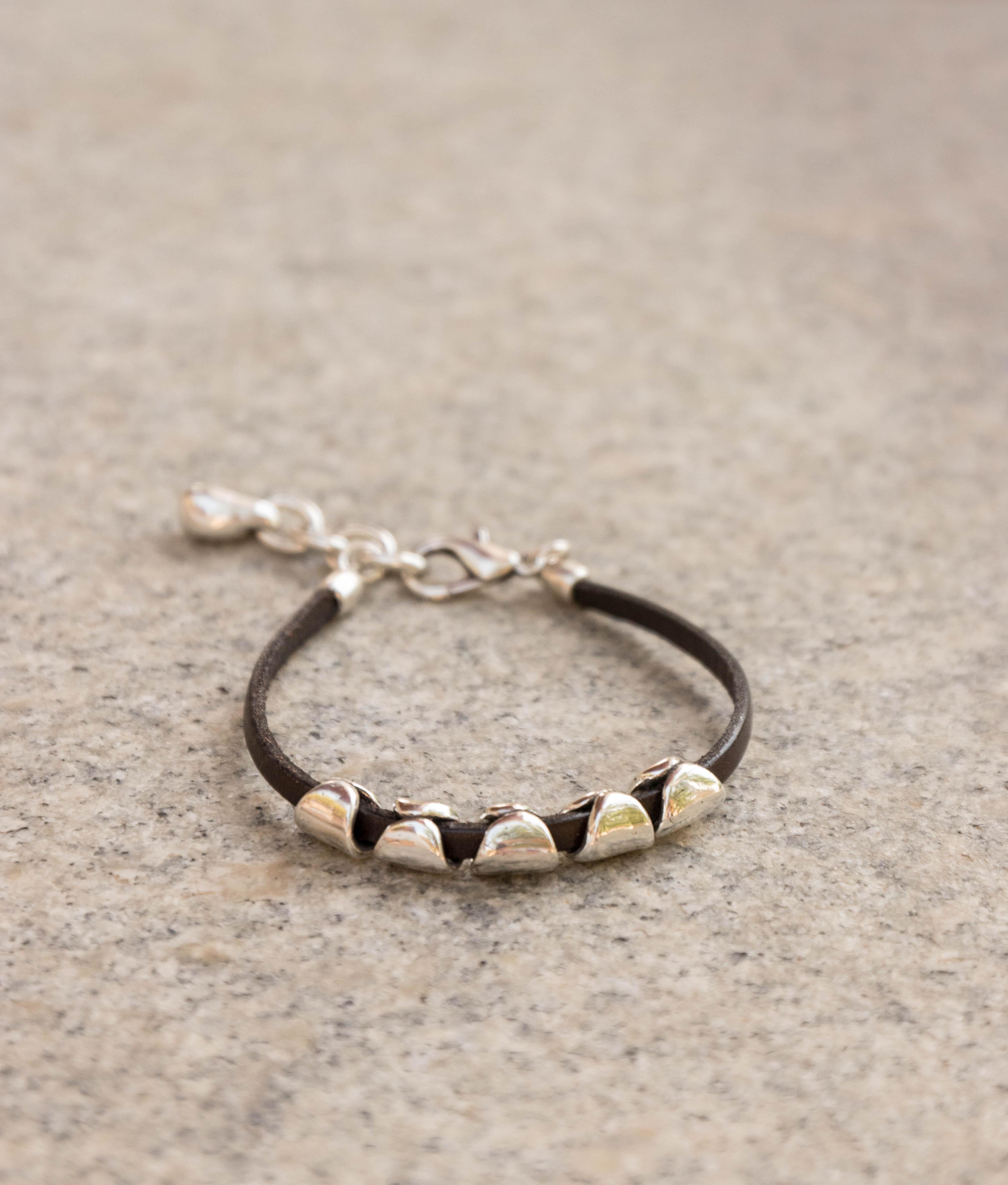 Bracelet Cardamomo - Argent