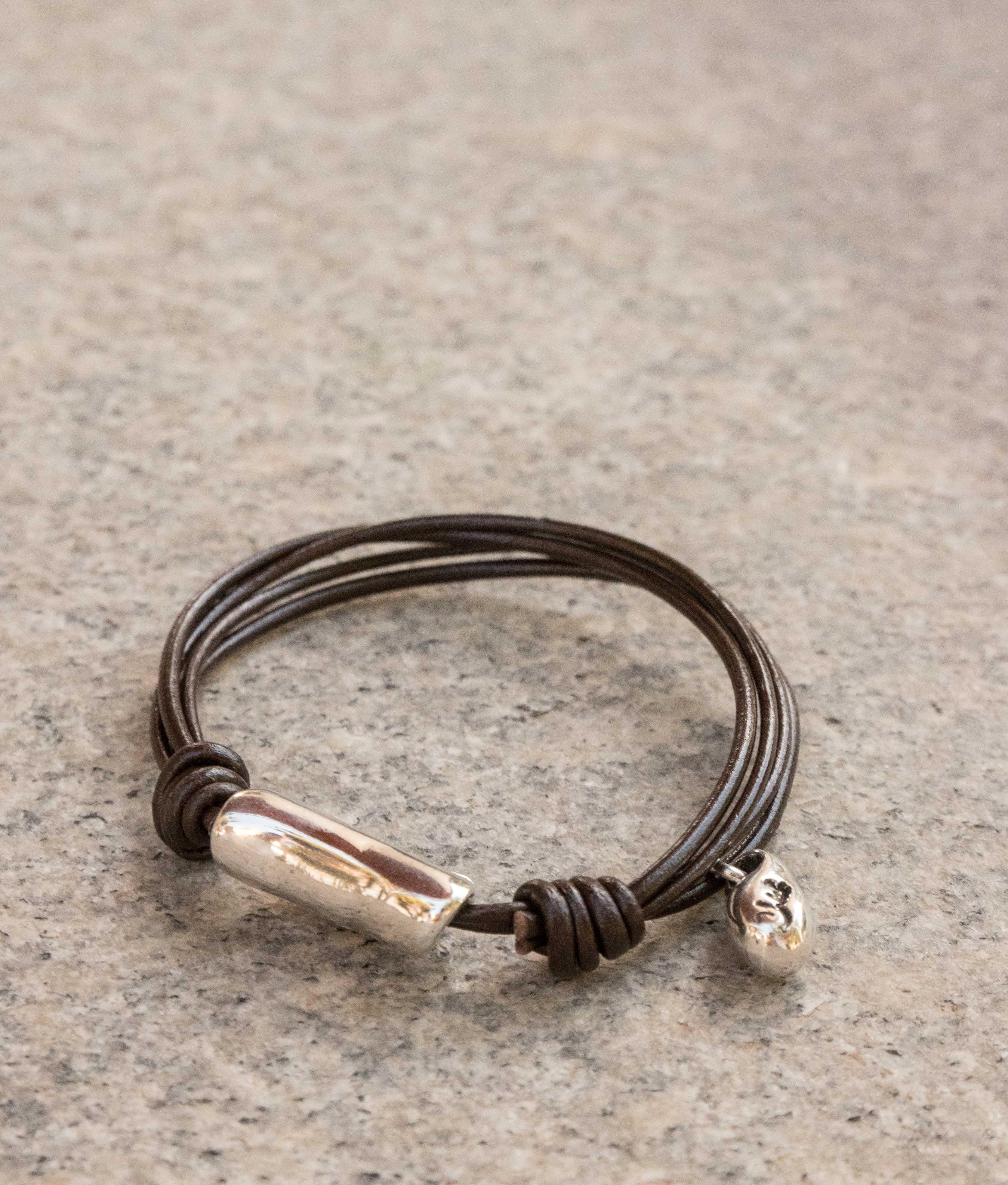 Bracelet Clavo - Argent