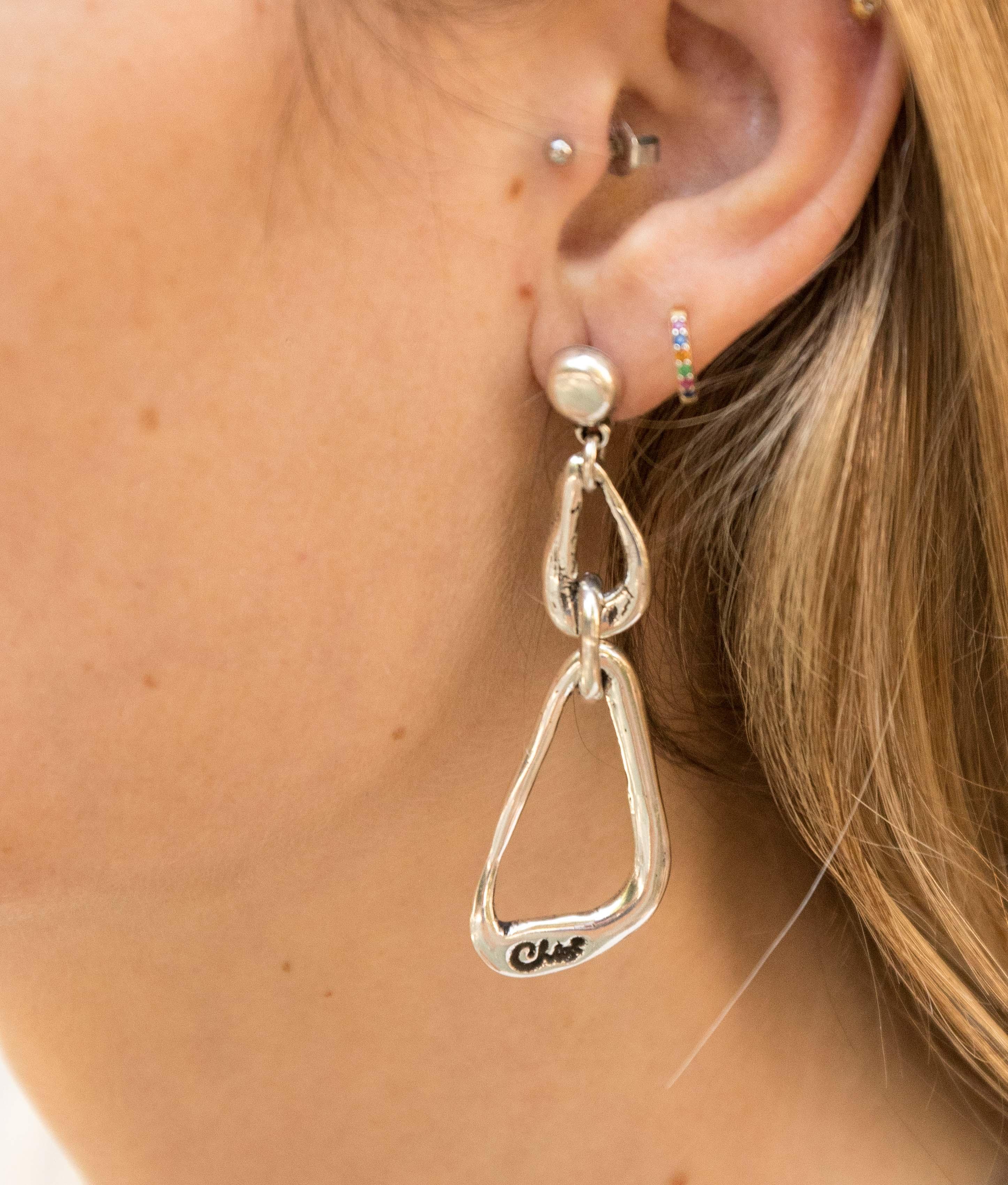 Earrings Sándalo - Silver