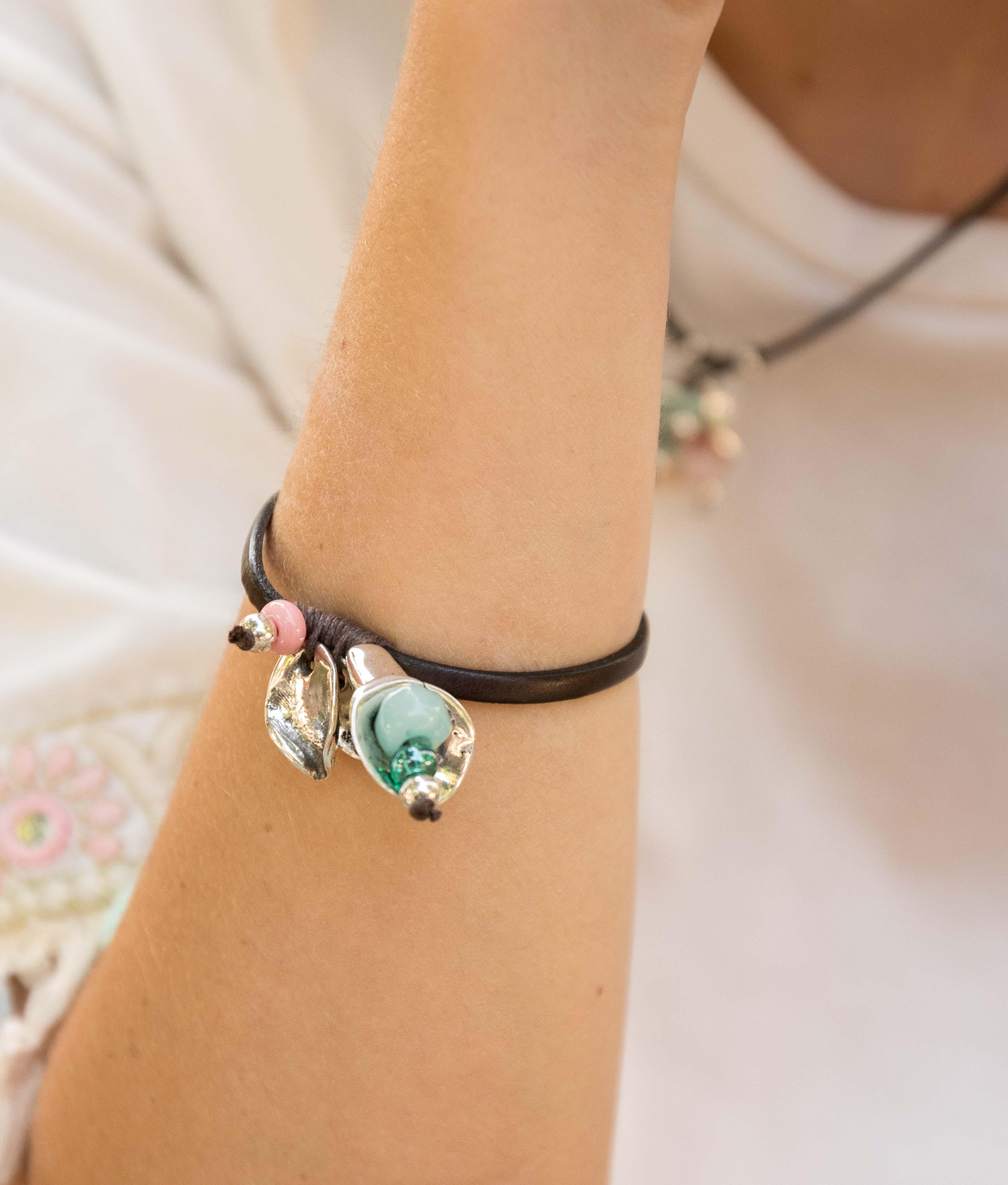 Braccialetto Hibisco - Multicolore