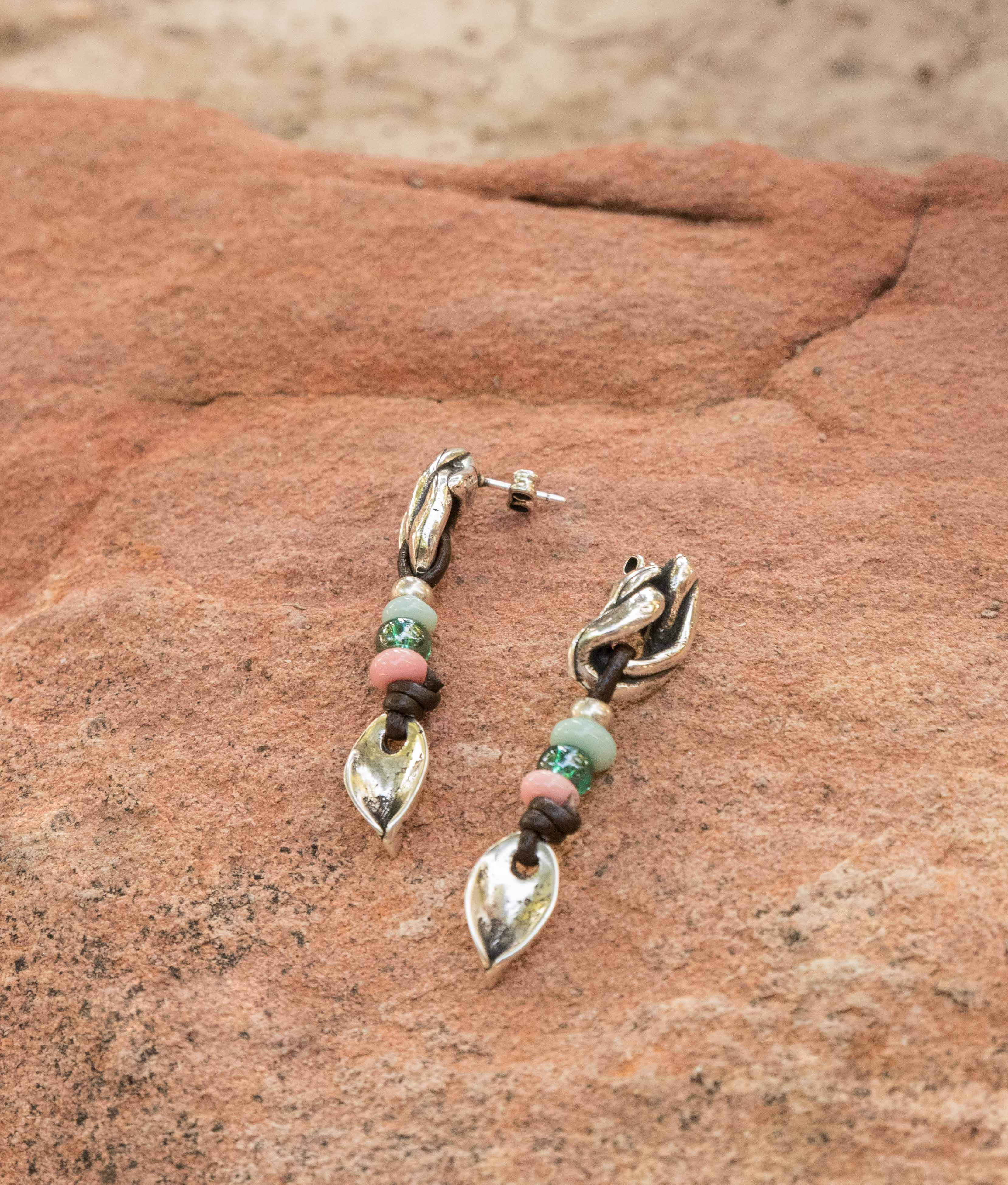 Earrings Hibisco - Multicolor