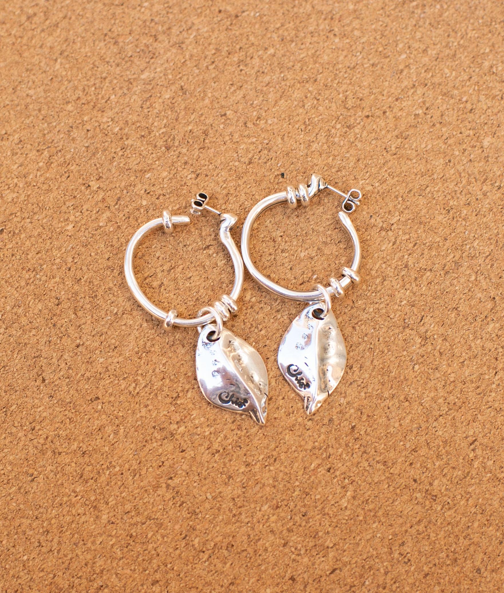 Earrings Racimito - Silver