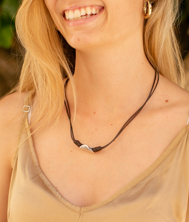 Collier Clavo - Argent