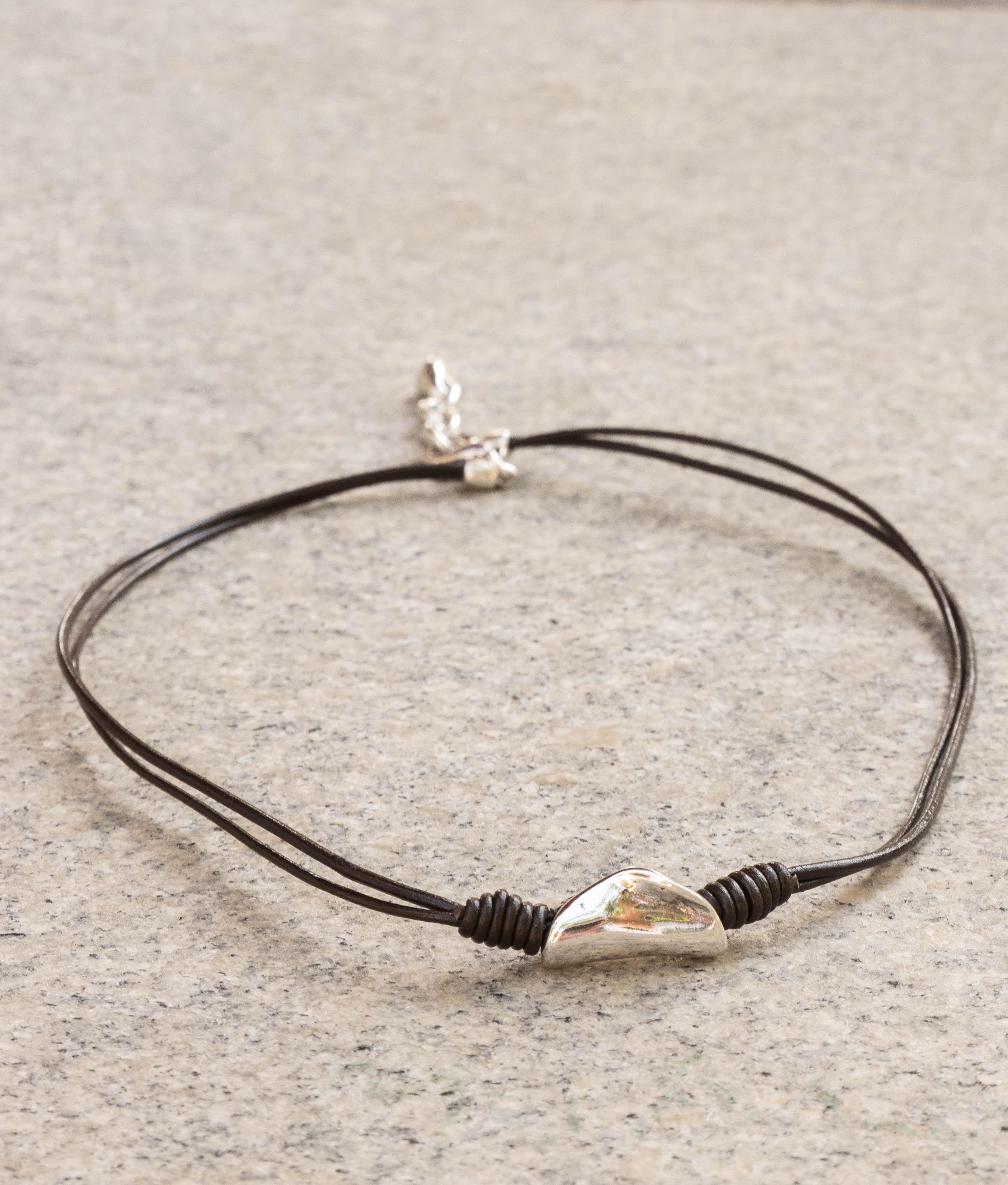 Necklace Jengibre - Silver