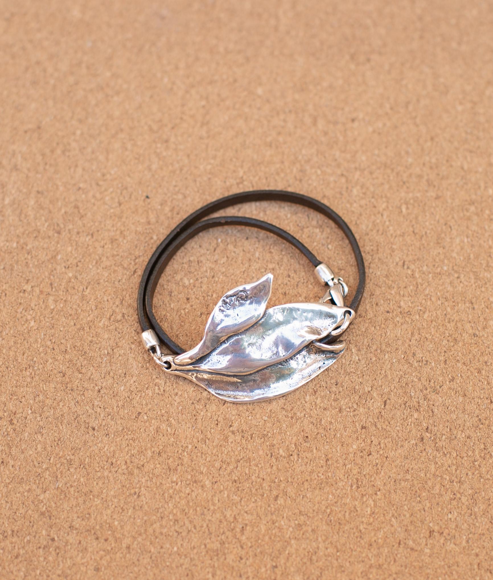 Bracelet Calathea - Silver