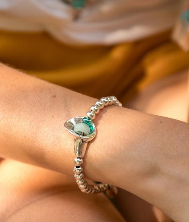 Bracelet Belladona - Aigue-marine