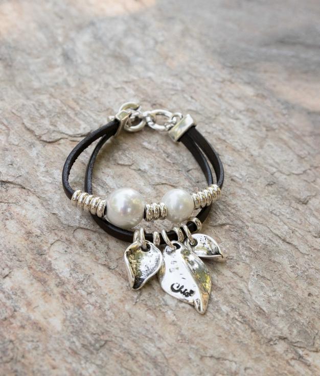 Bracelet Primavera Perla - Argent