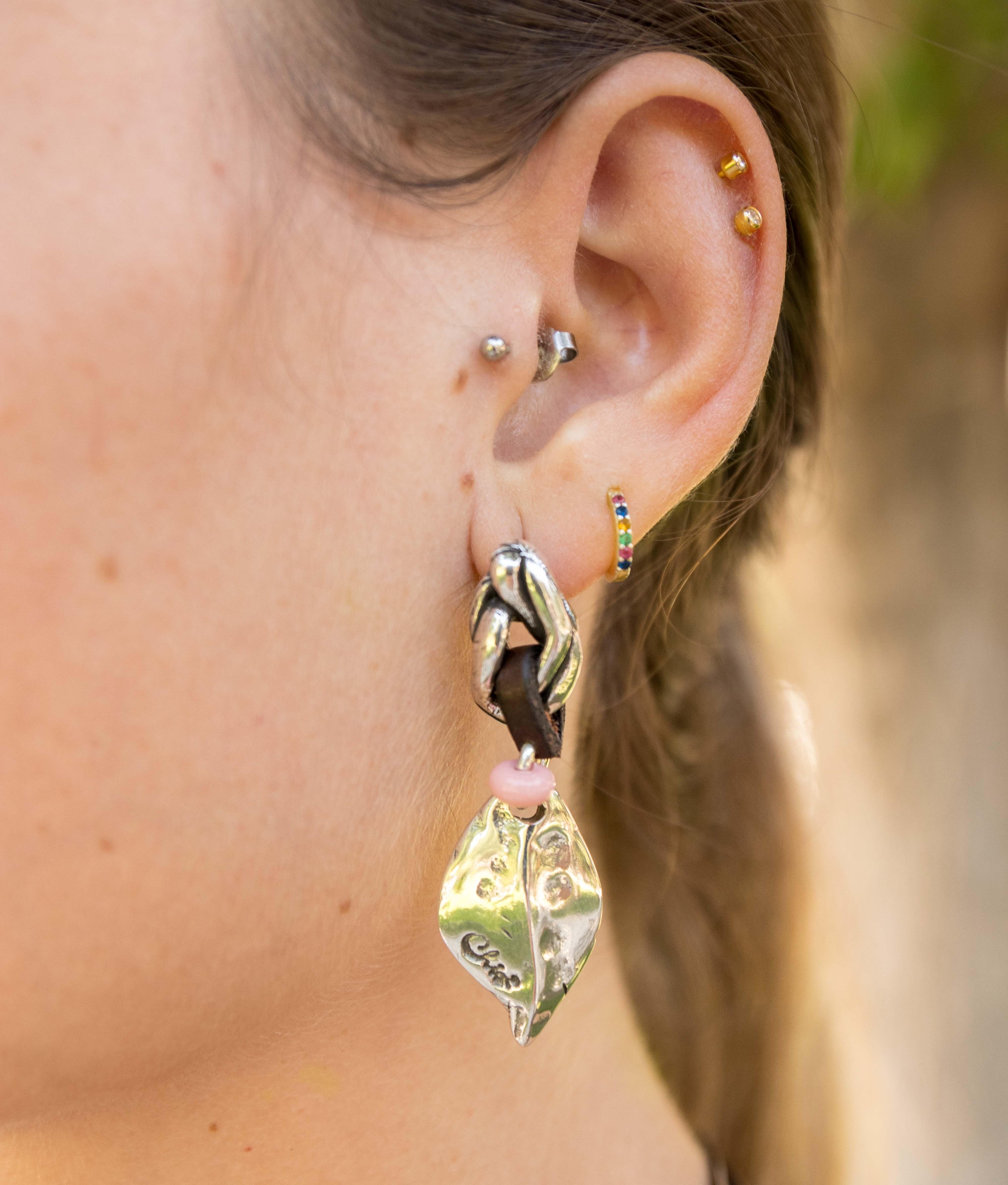 Earrings Peta-lo - Rosa
