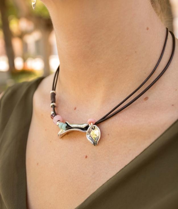Necklace Peta-lo - Multicolor