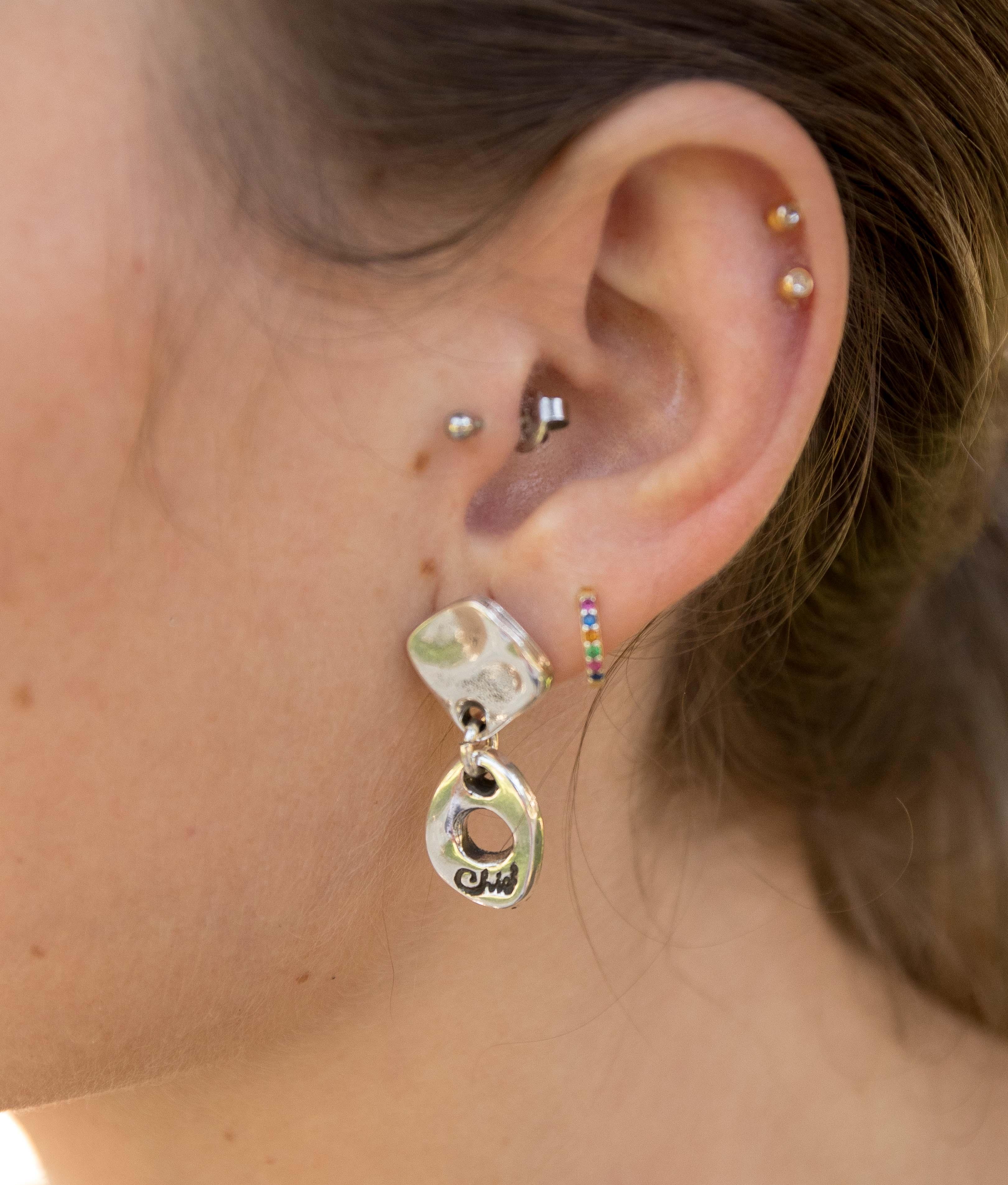 Earrings X tu Pulpa - Silver