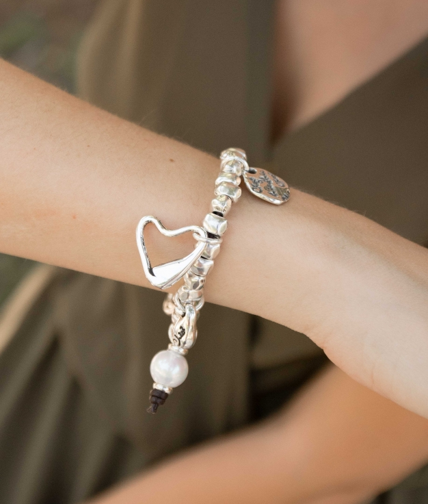 Bracelet X tu Pulpa - Argent