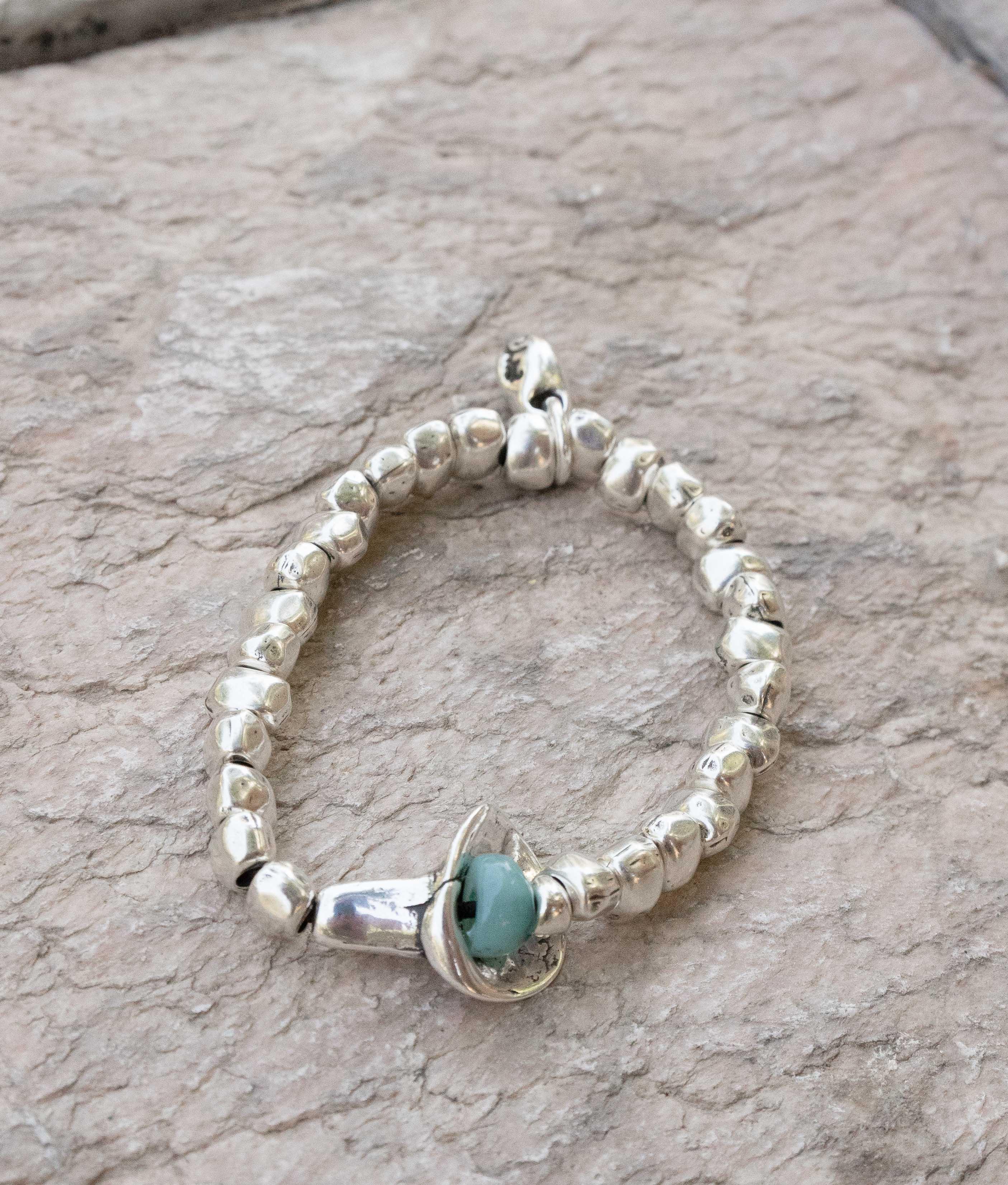 Bracelet Campánula - Aigue-marine