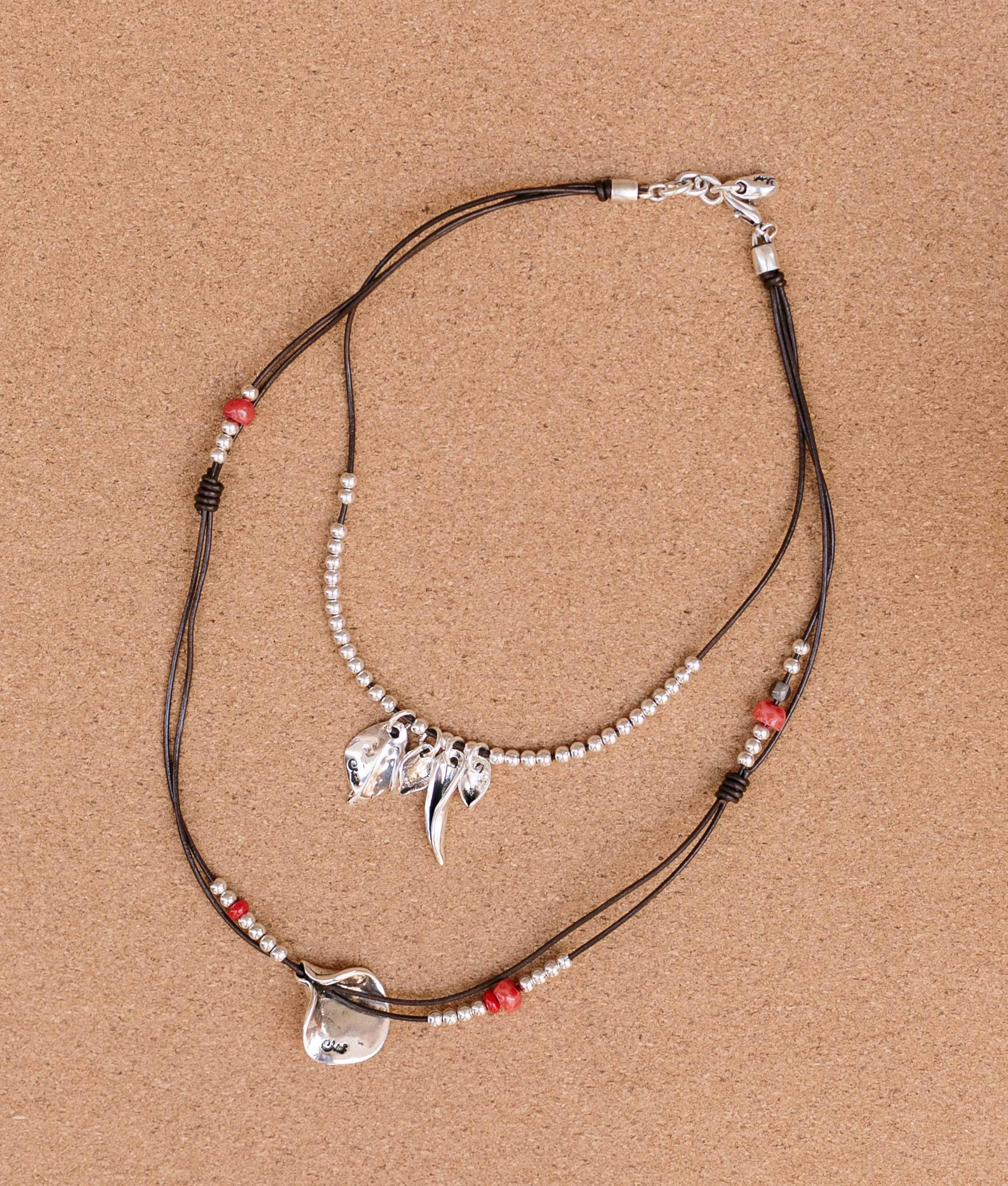 Necklace de Flor en Flor - Red