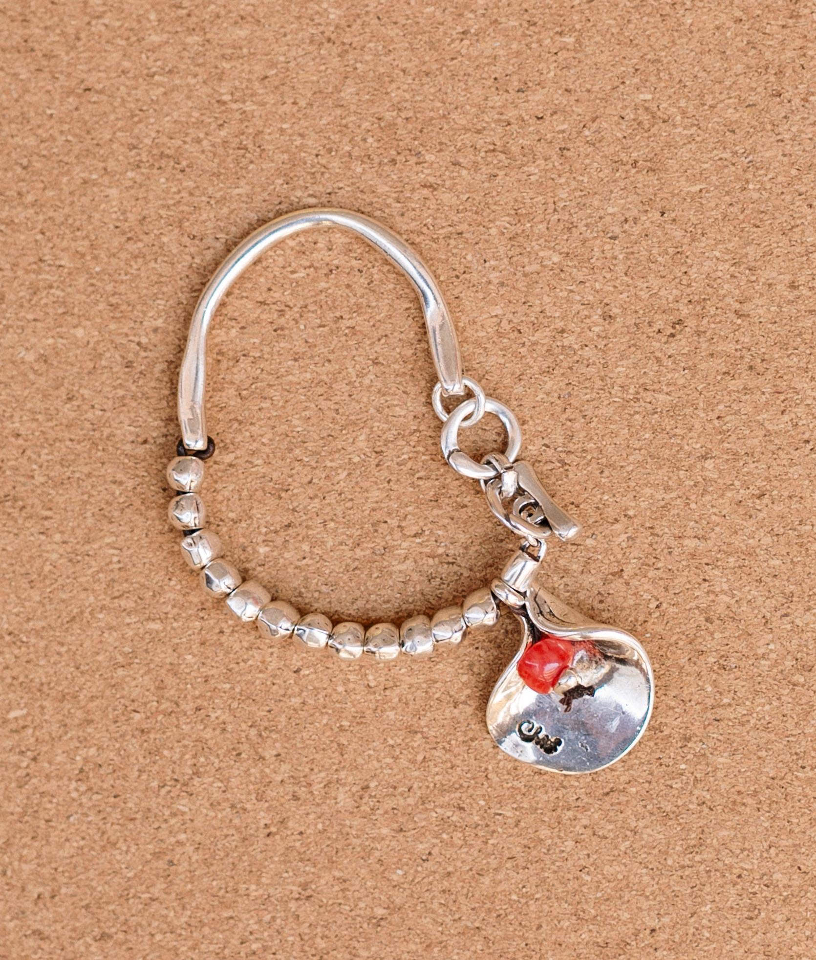 Bracelet de Flor en Flor - Rouge