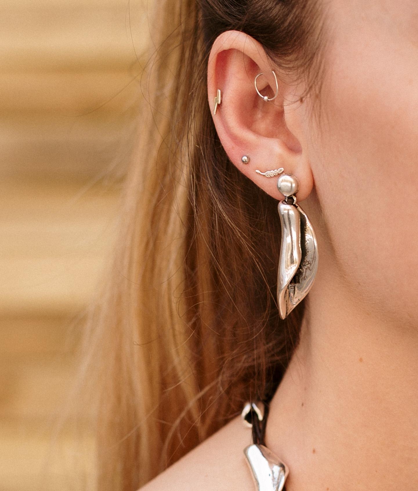 Earrings Canelita - Silver