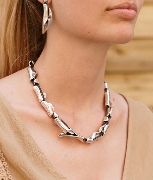 Necklace Canelita - Silver