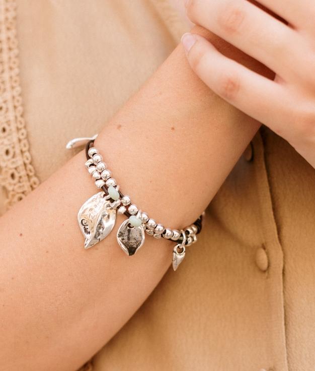 Bracelet Madreselva - Aigue-marine