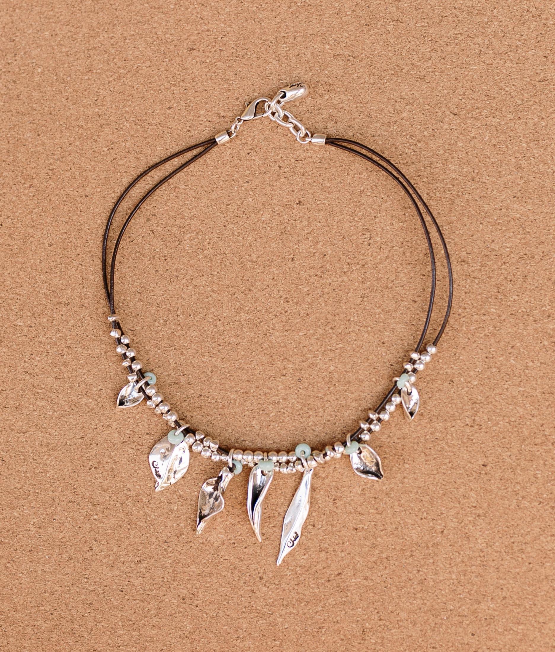Necklace Madreselva - Aquamarine