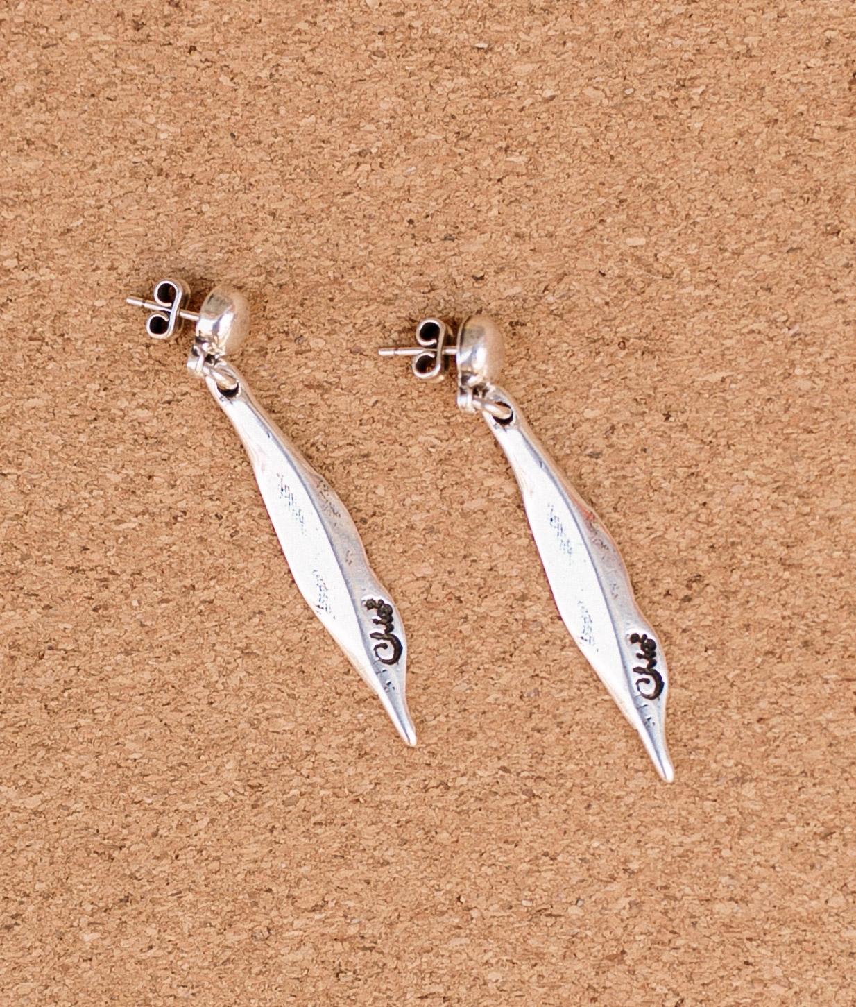 Earrings Madreselva - Silver