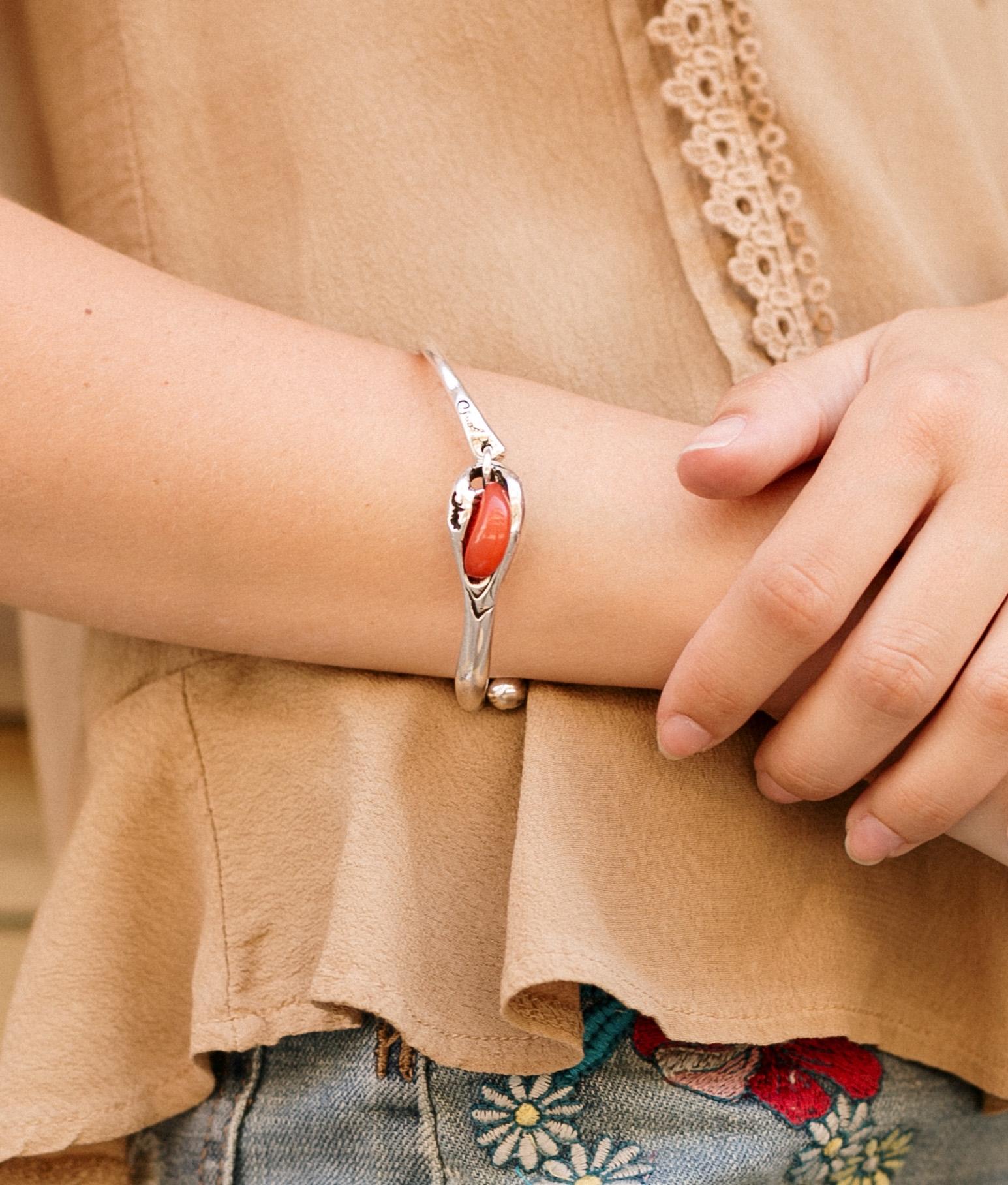 Bracelet Baobad Solid - Rouge