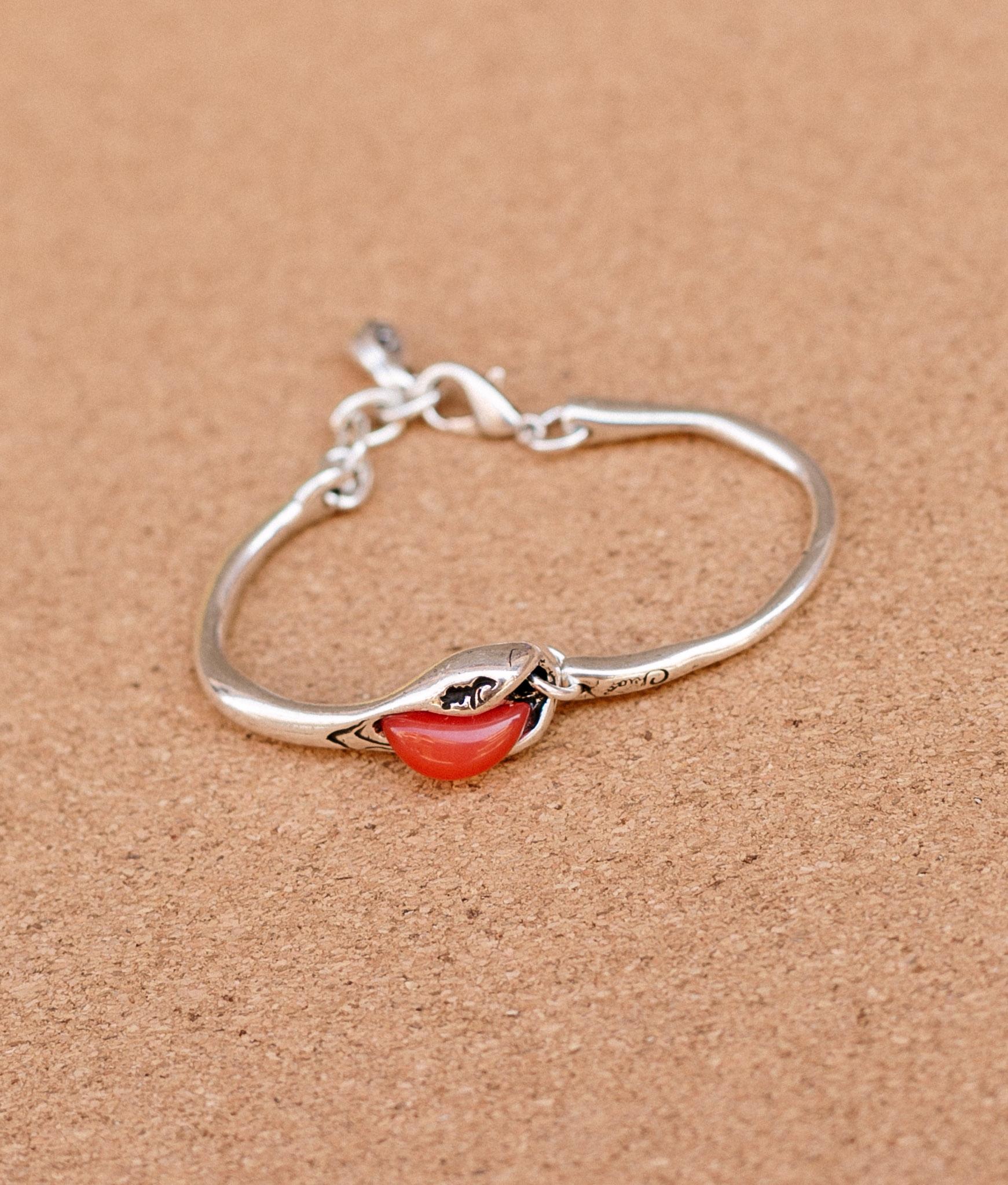 Bracelet Baobad Solid - Red