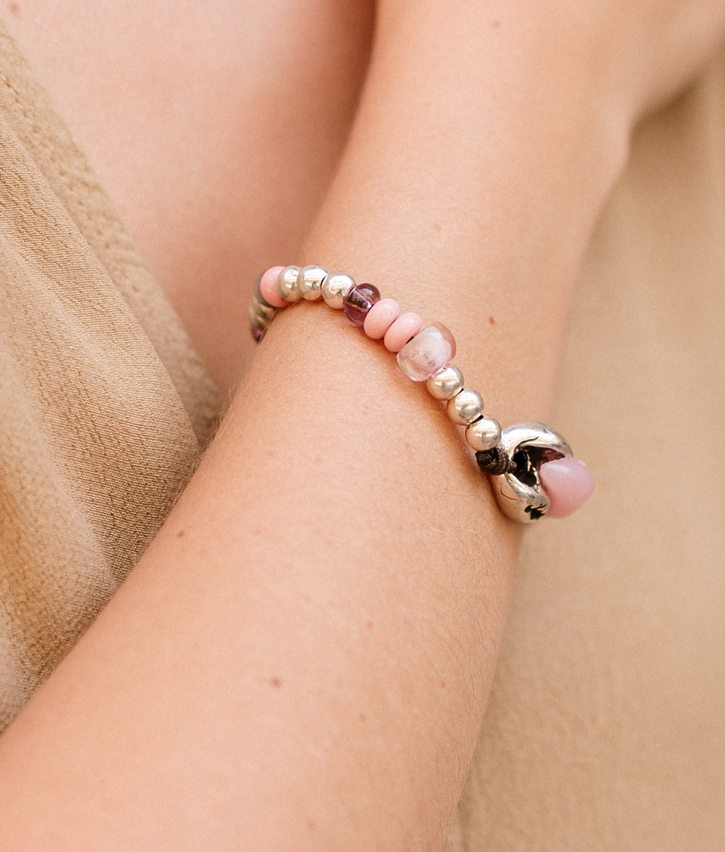 Bracelet Baobab Color - Rose