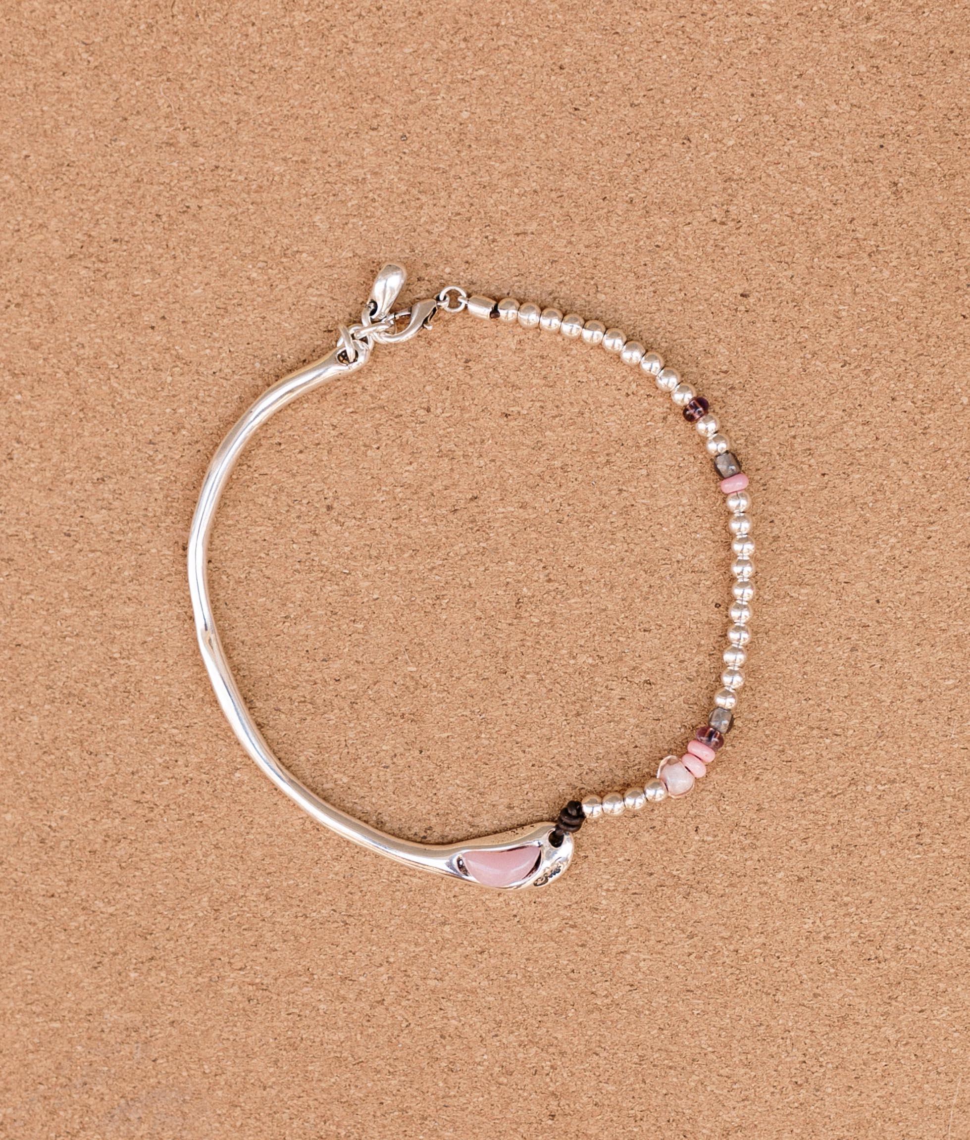 Collier Baobab Color - Rose