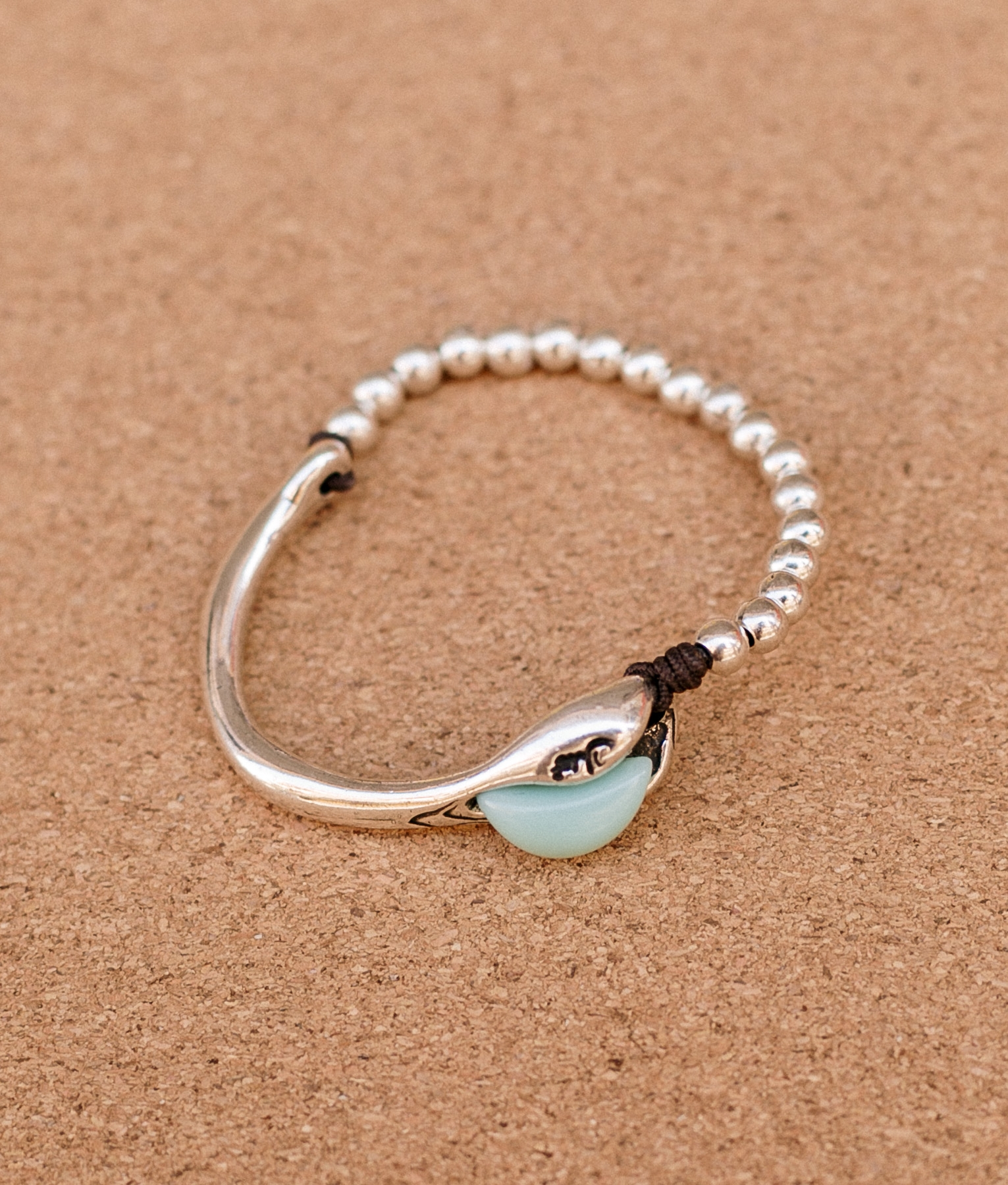 Bracelet Baobab - Aigue-marine